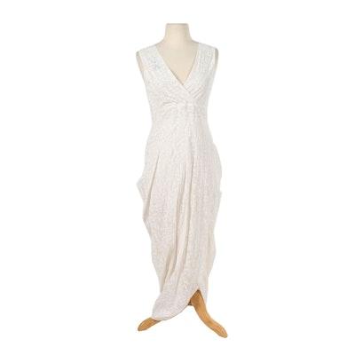 c6111c21ea62 Maria   Cornejo Silk Damask Sleeveless Cocktail Dress