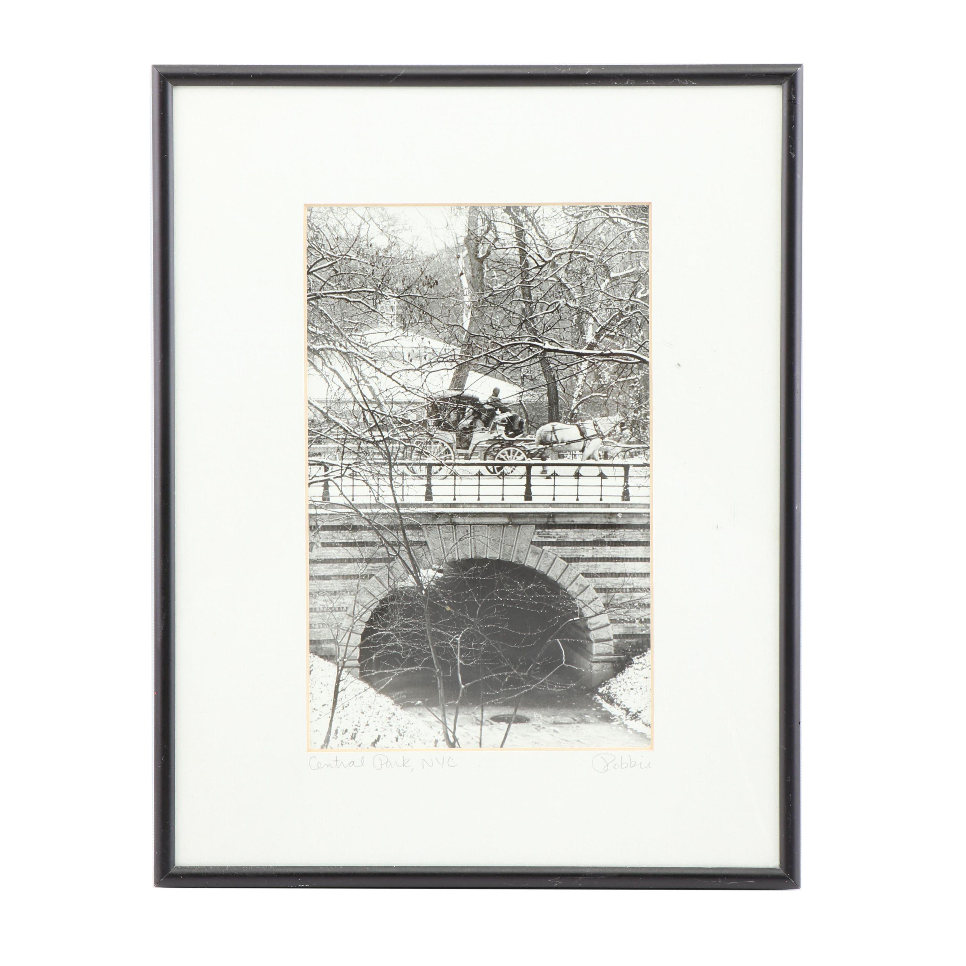 "Robbie Masso Digital Print Photograph ""Central Park, NYC"""