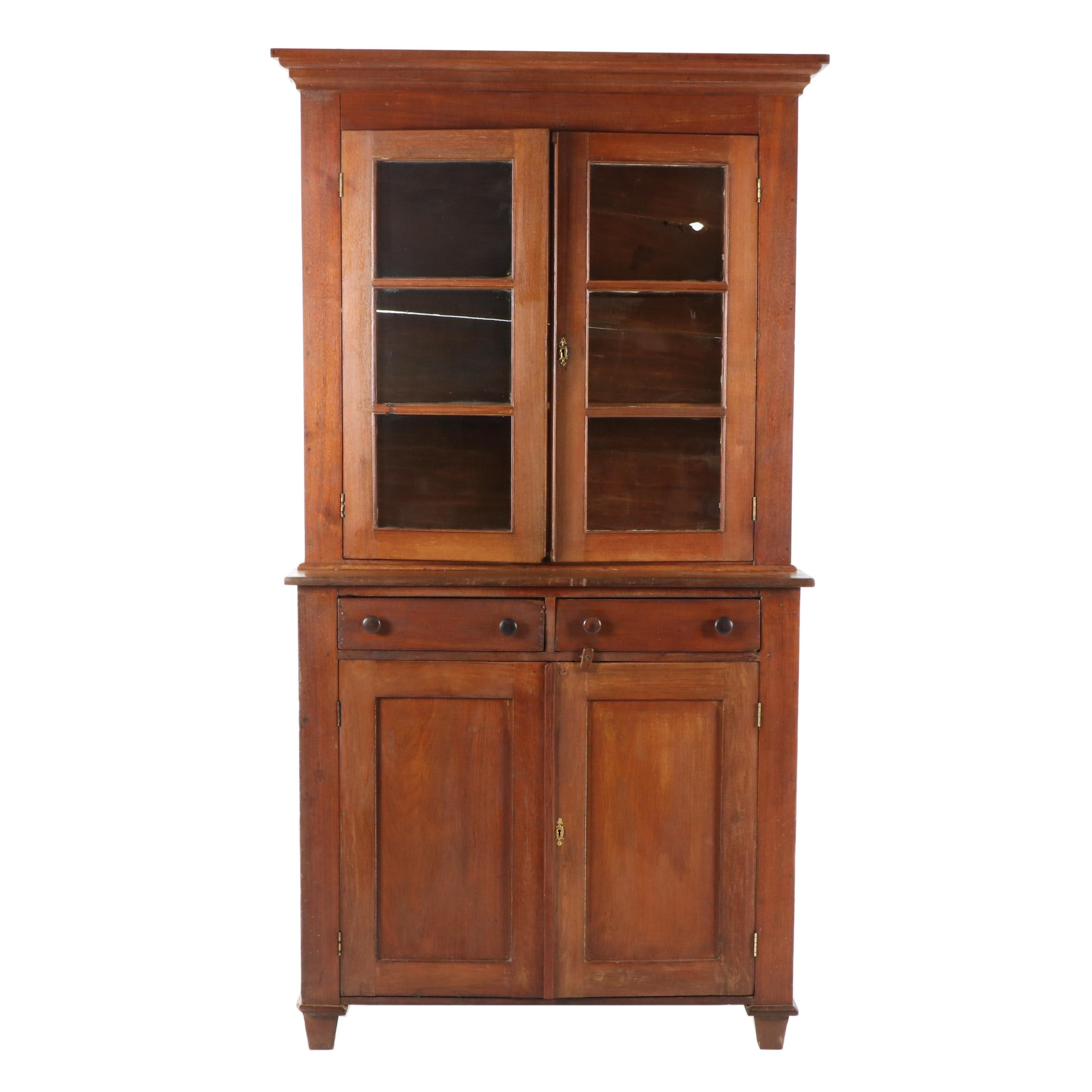 Cherrywood China Cabinet, Late 19th Century