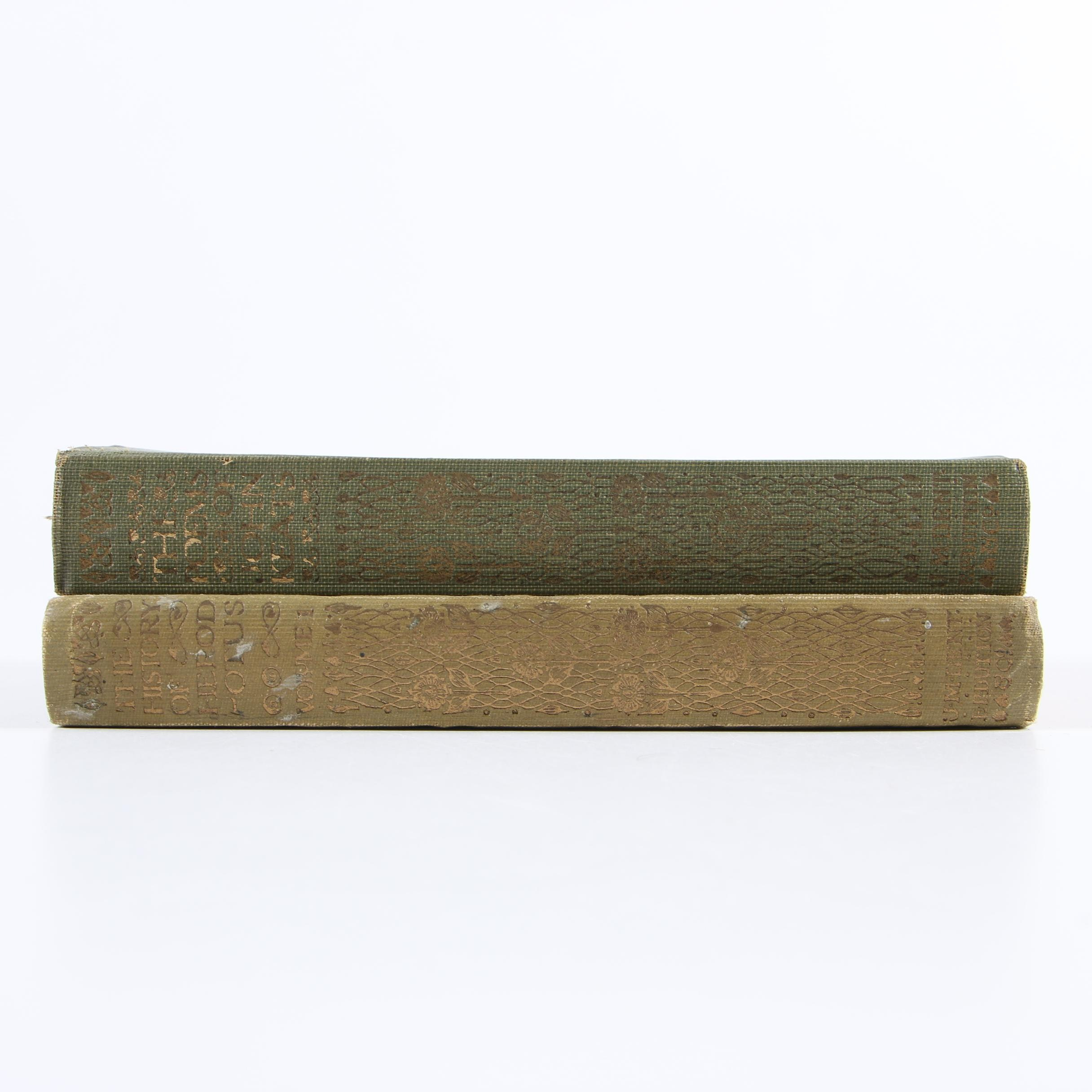 """""""The Poetry of John Keats"""" and """"The History of Herodotus,"""" 1920s"""