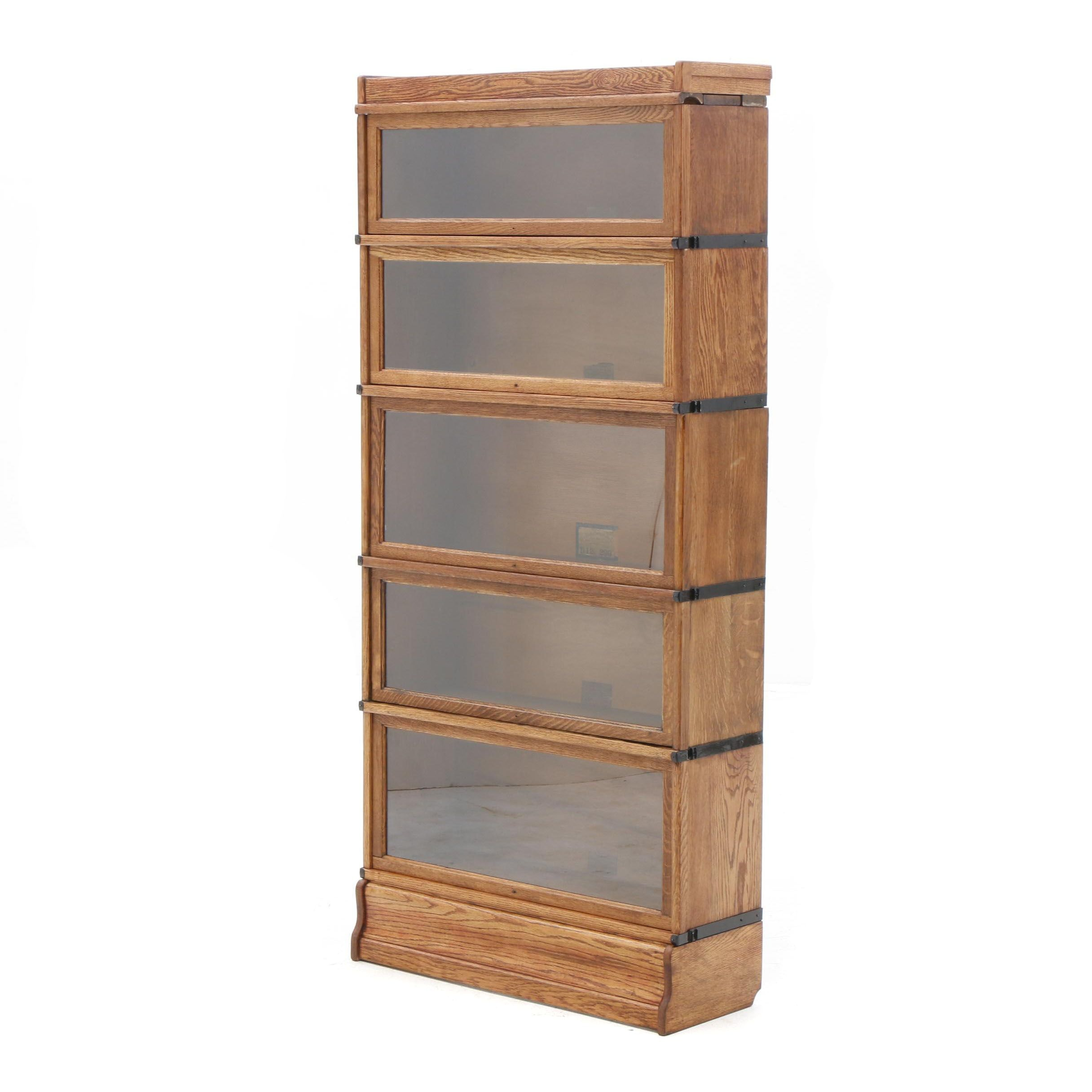1920s-1930s Sectional Barrister Bookcase by Globe-Wernicke