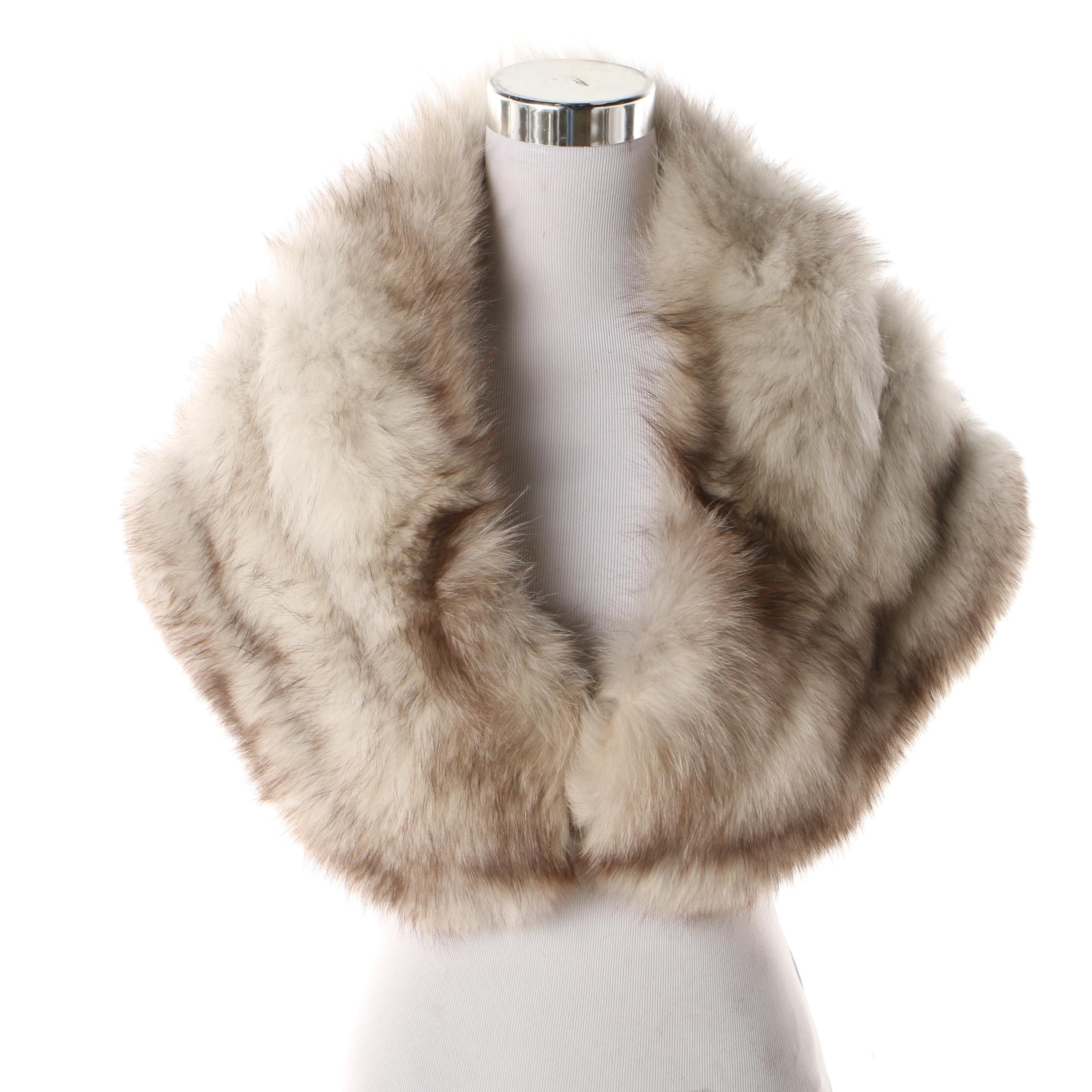 Benioff's Fox Fur Stole