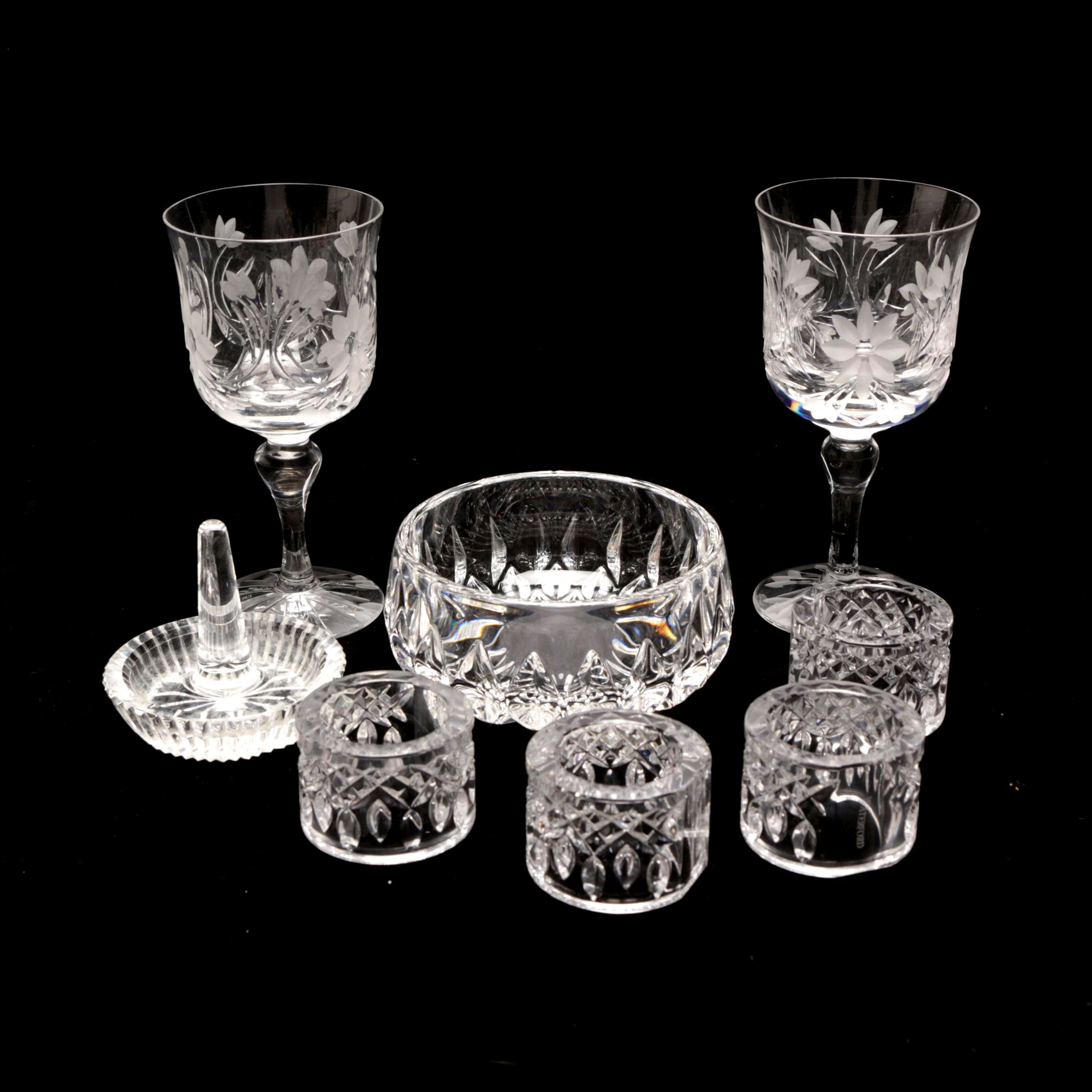Crystal Glass Tableware Including Waterford