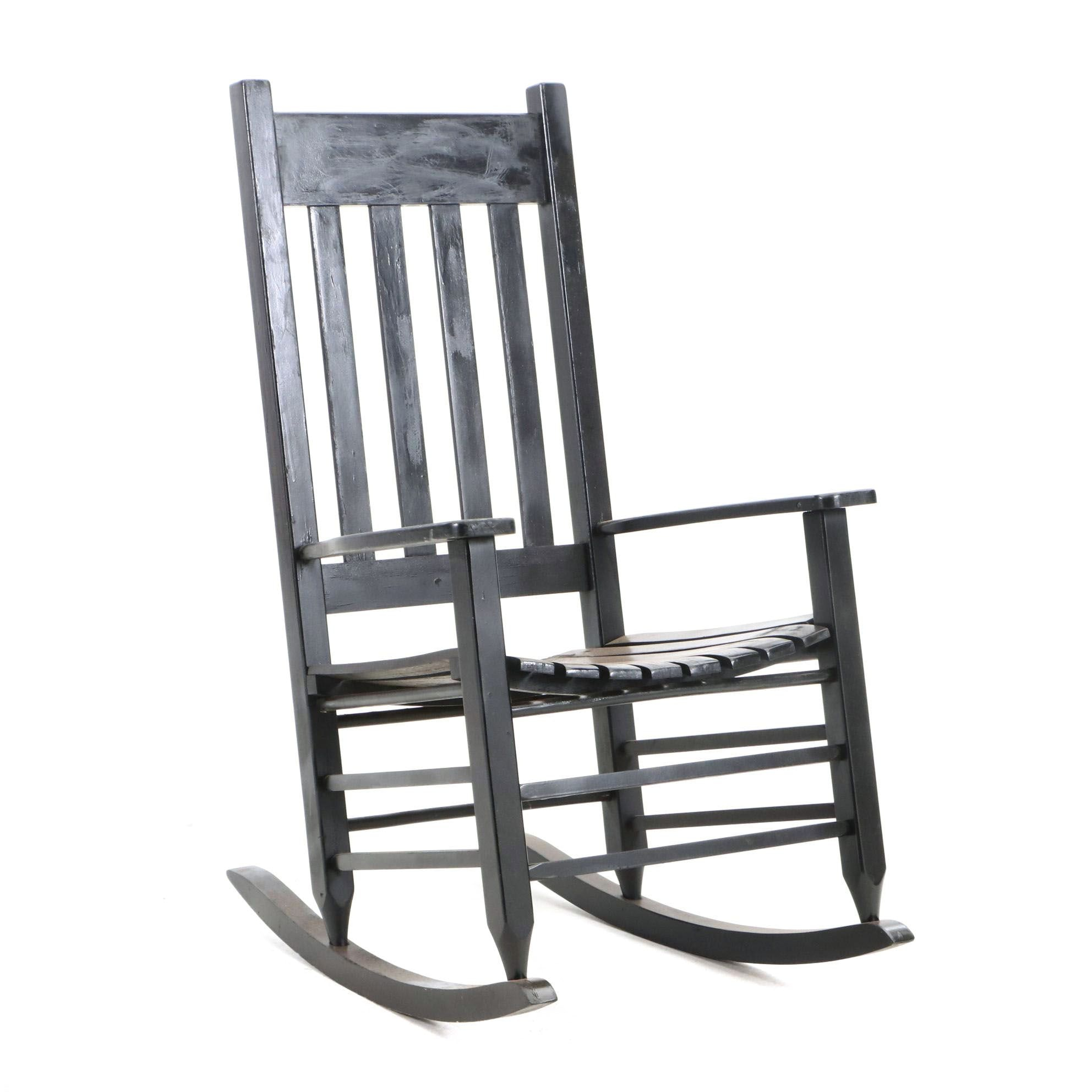 Over-Sized Mission Style Rocking Chair
