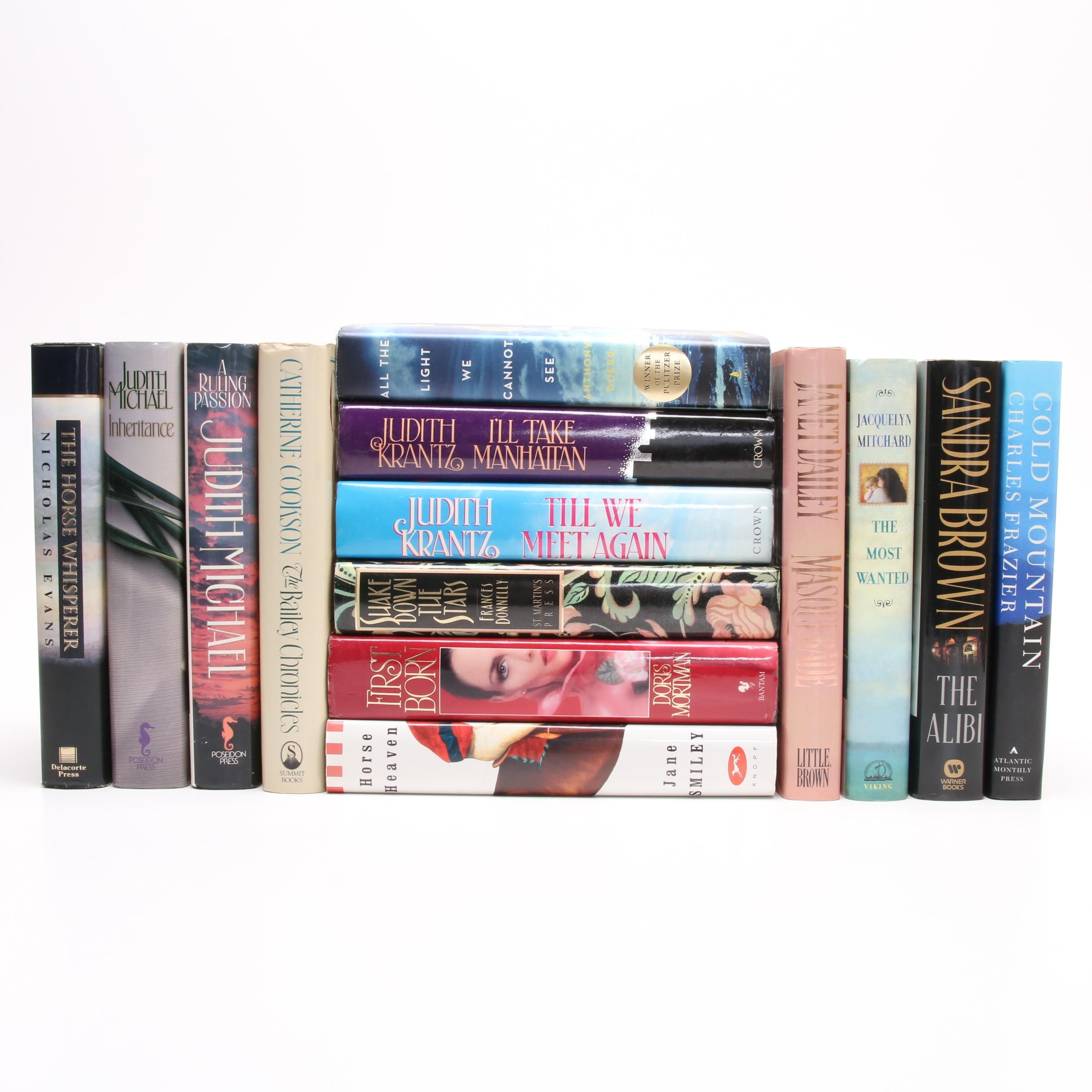 Romance Book Collection featuring Authors  Michael, Evans, Brown and More