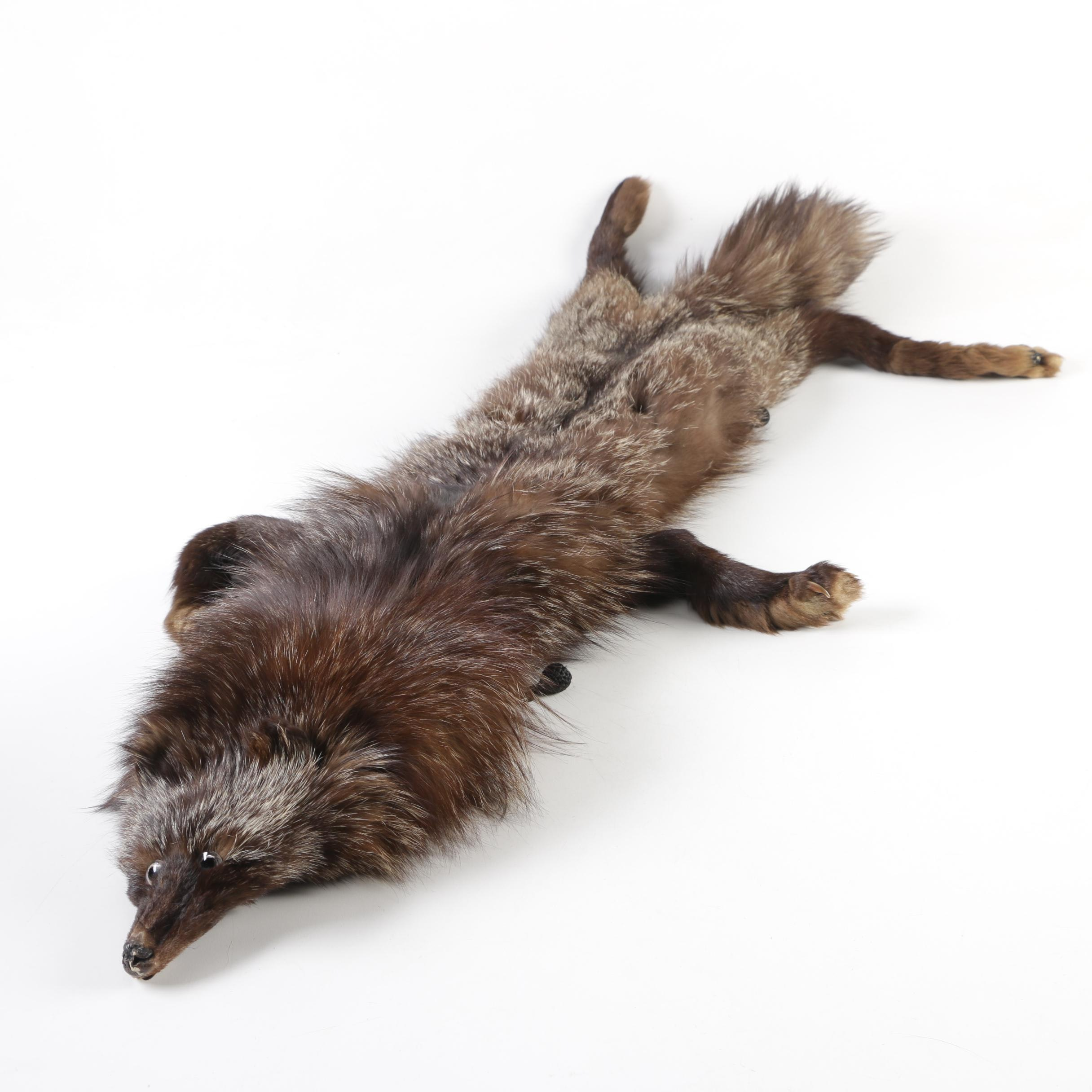 Brown Fox Fur Stole