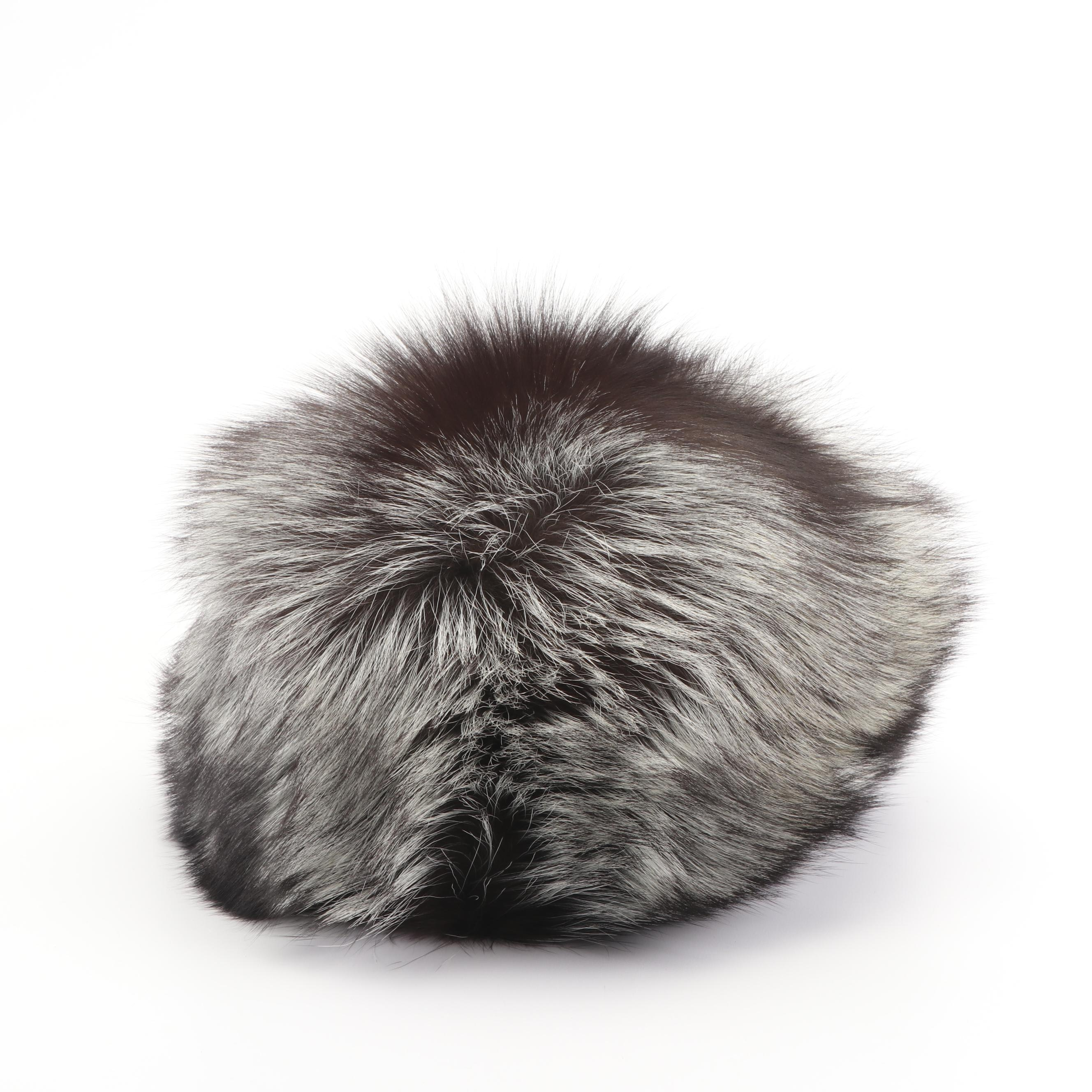 Russian Fox Fur Cossack Hat