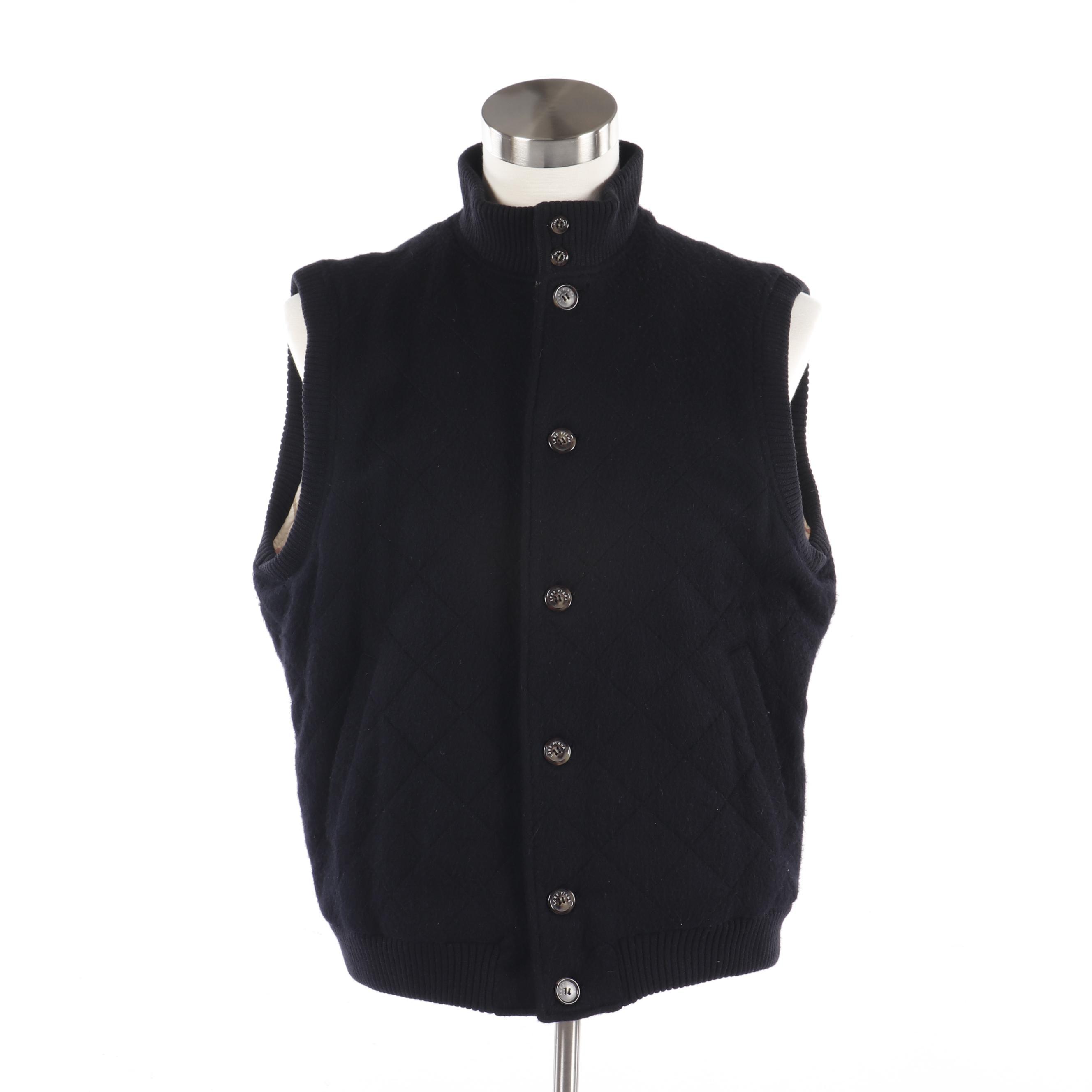 Women's Loro Piana Cashmere Vest, Made in Italy