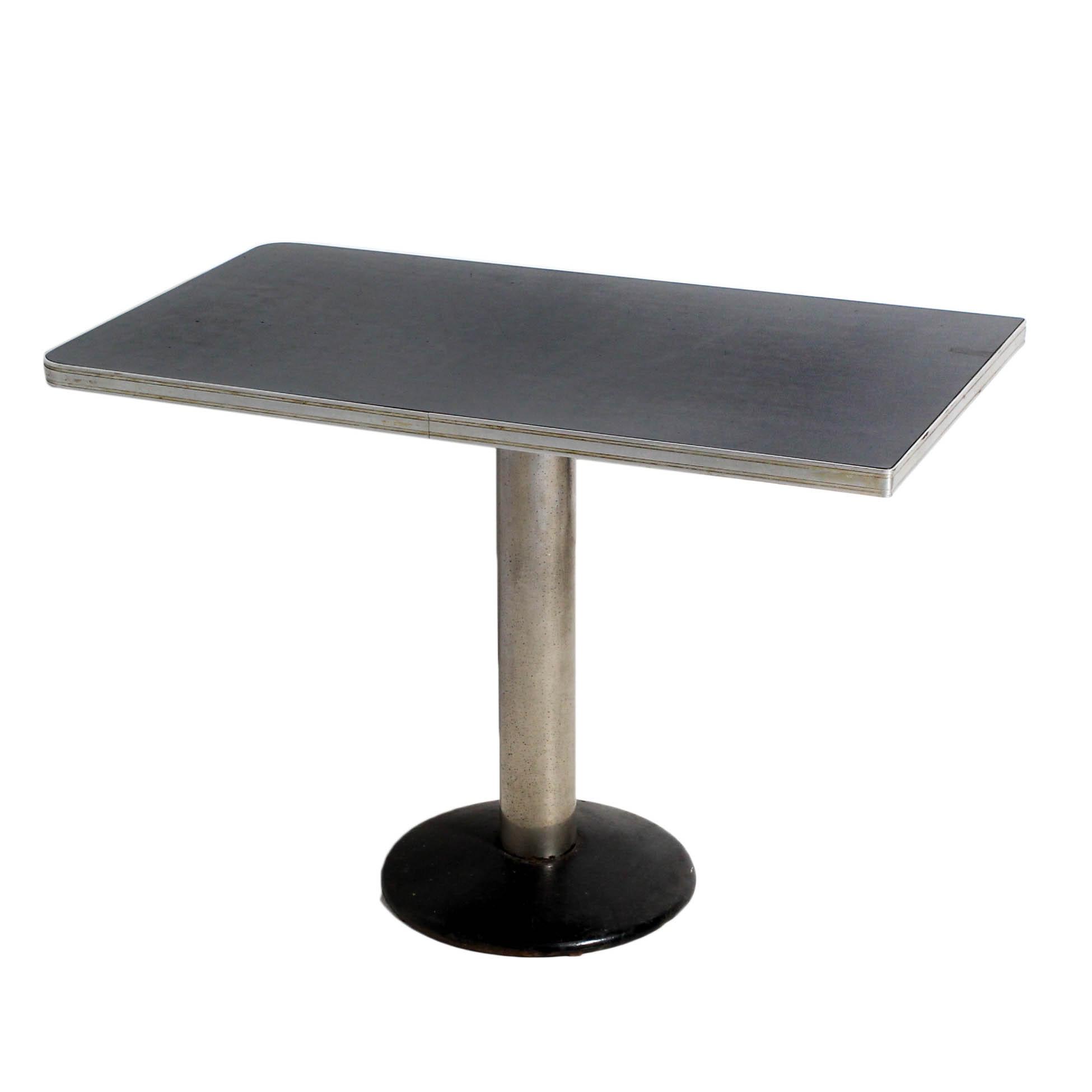 Mid Century Modern Pedestal Diner Table