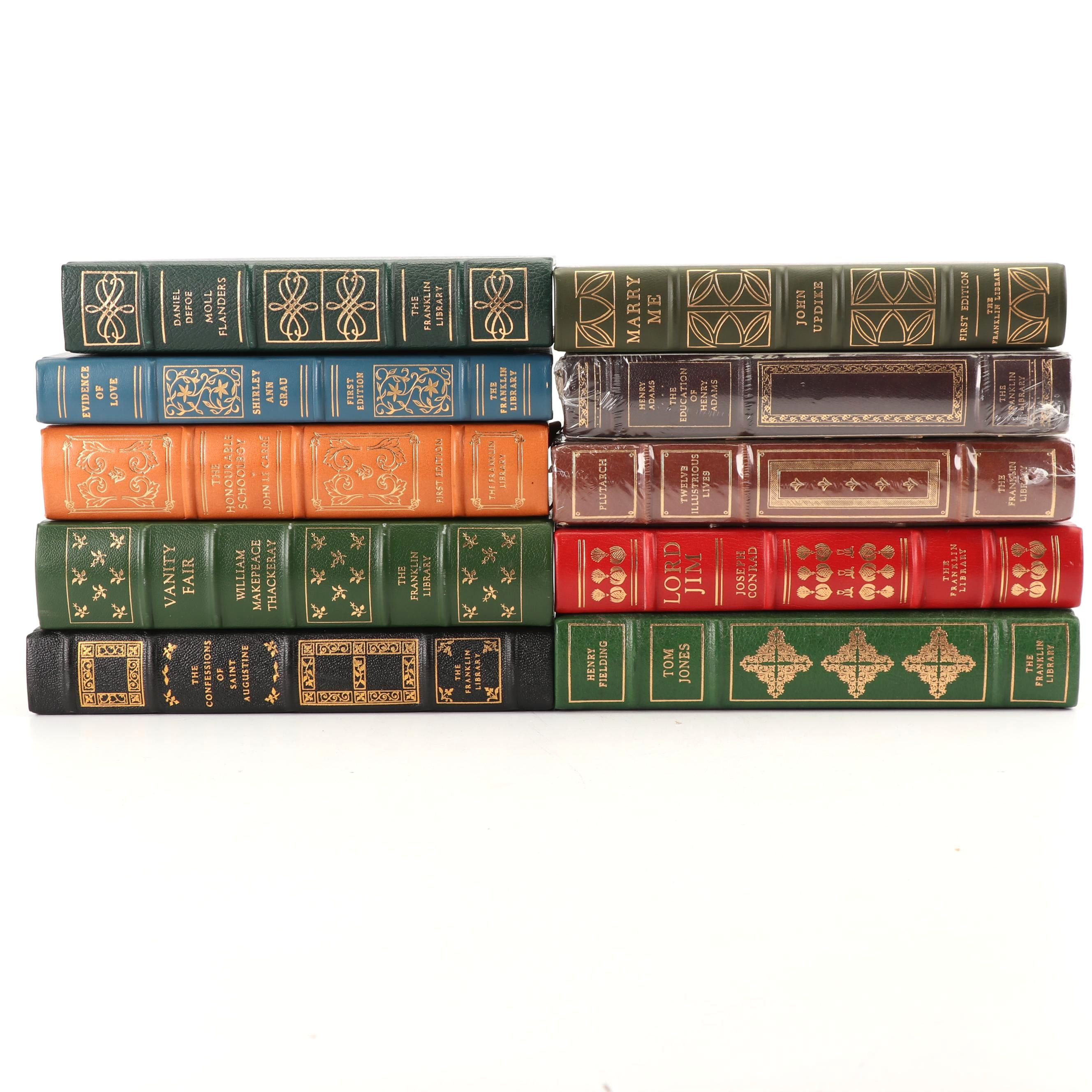 """Franklin Library Editions of Classic Novels Including """"Vanity Fair"""""""
