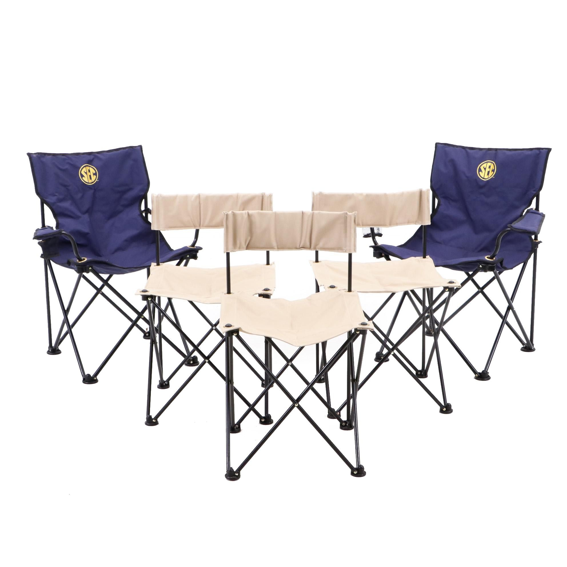 SEC and Final Four 1999 Folding Portable Tailgating Chairs
