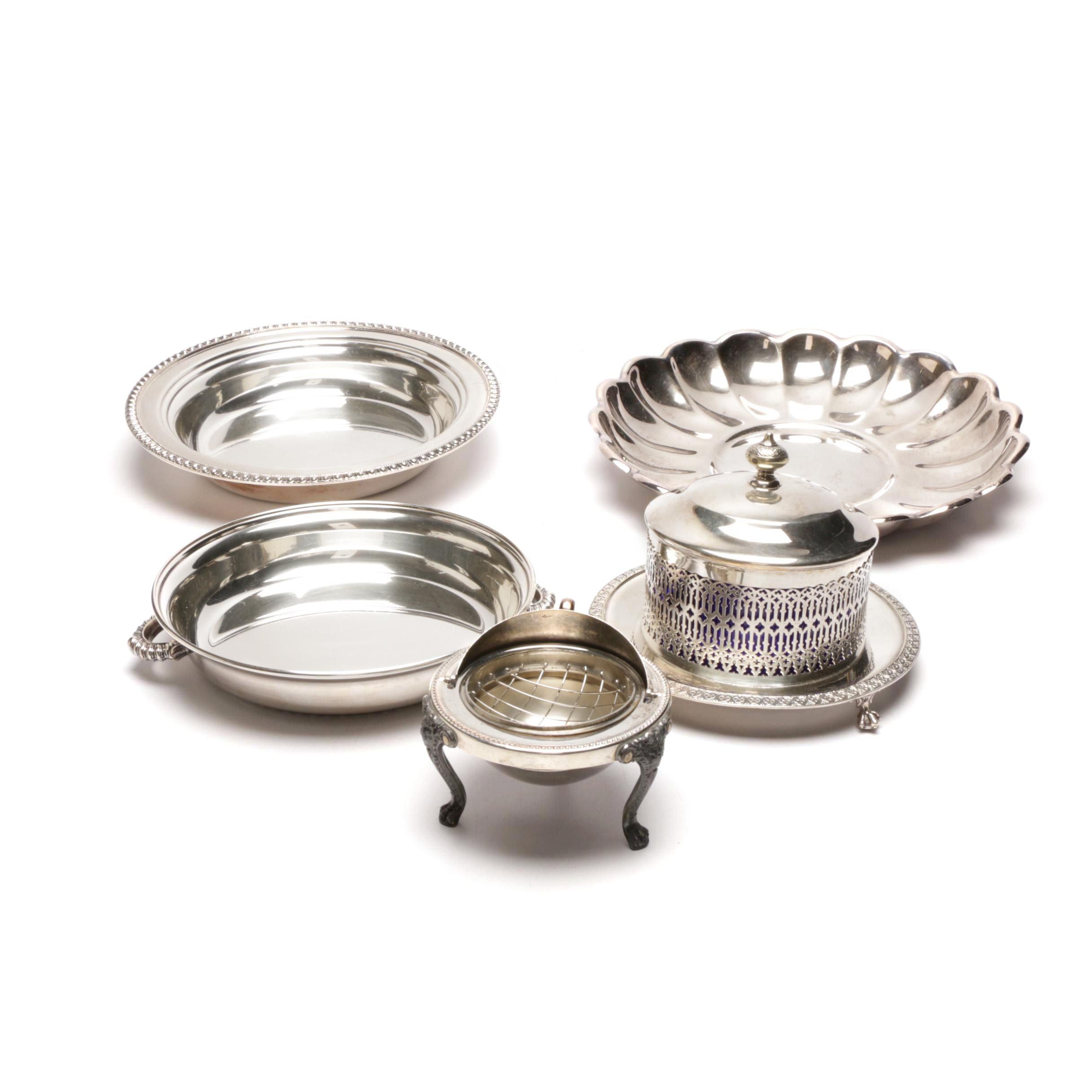 Silver Plate Serveware