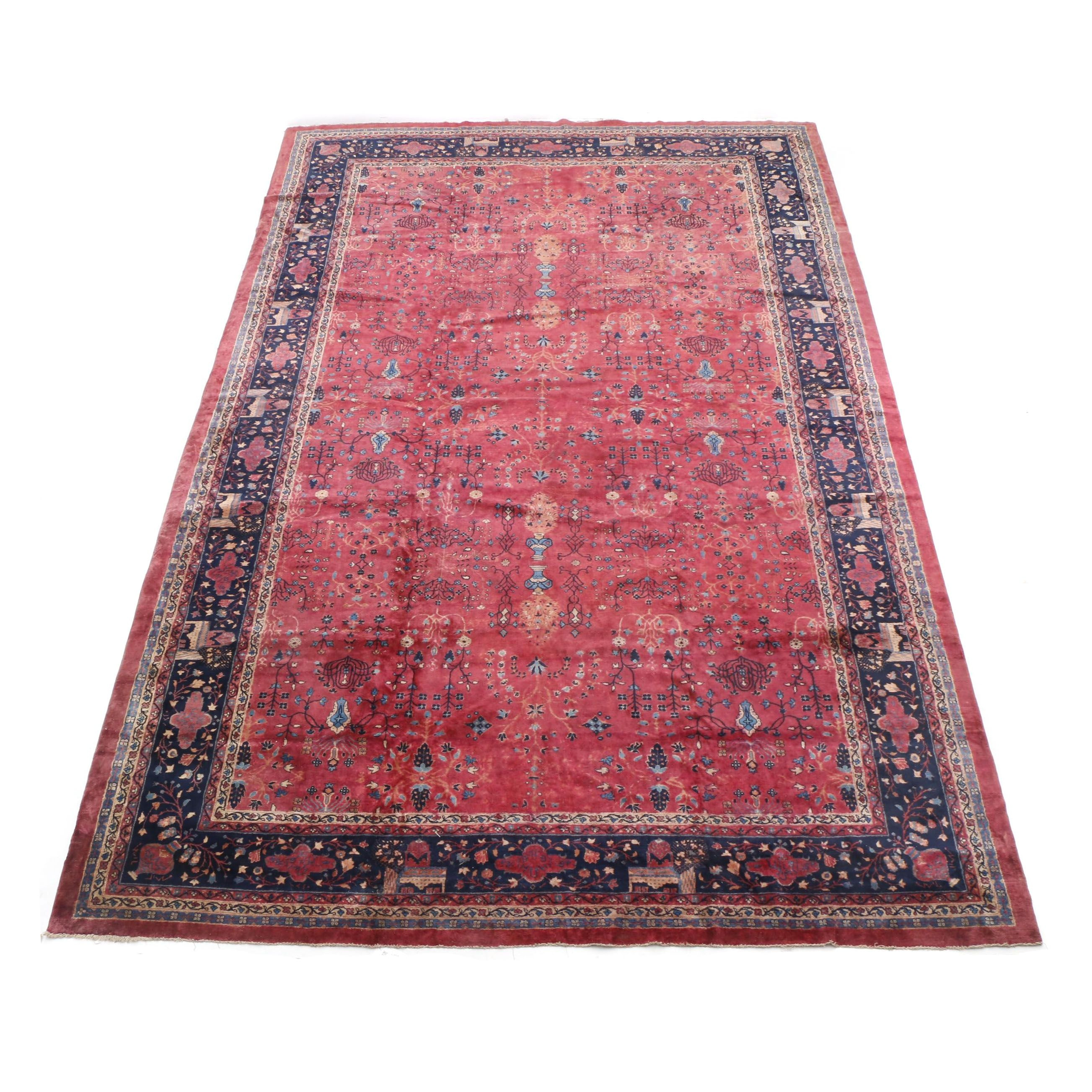 Hand-Knotted Turkish Sparta Palace-Sized Rug
