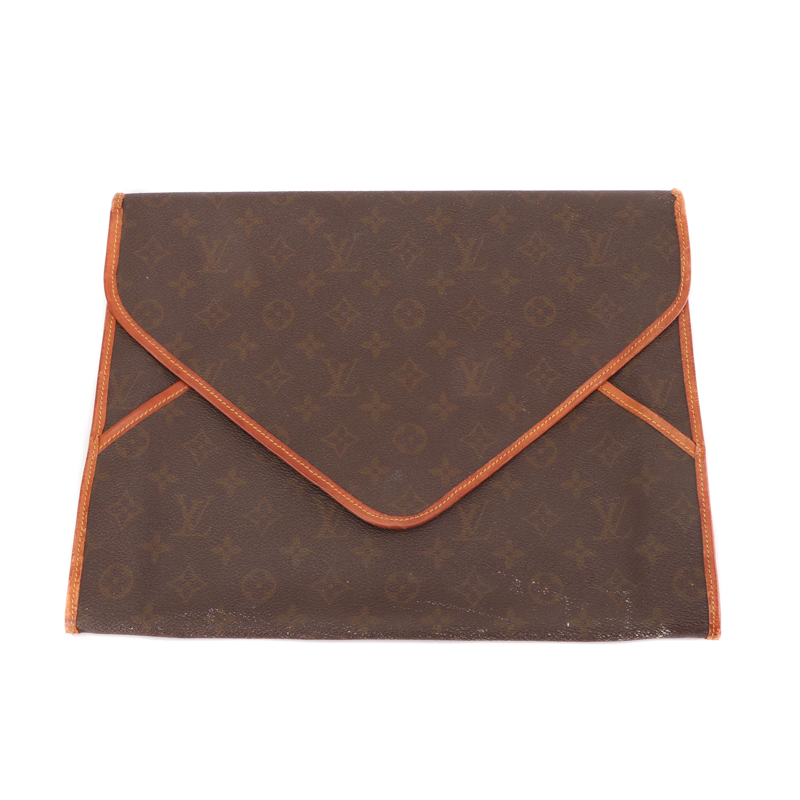 Louis Vuitton Monogram Canvas Envelope Clutch