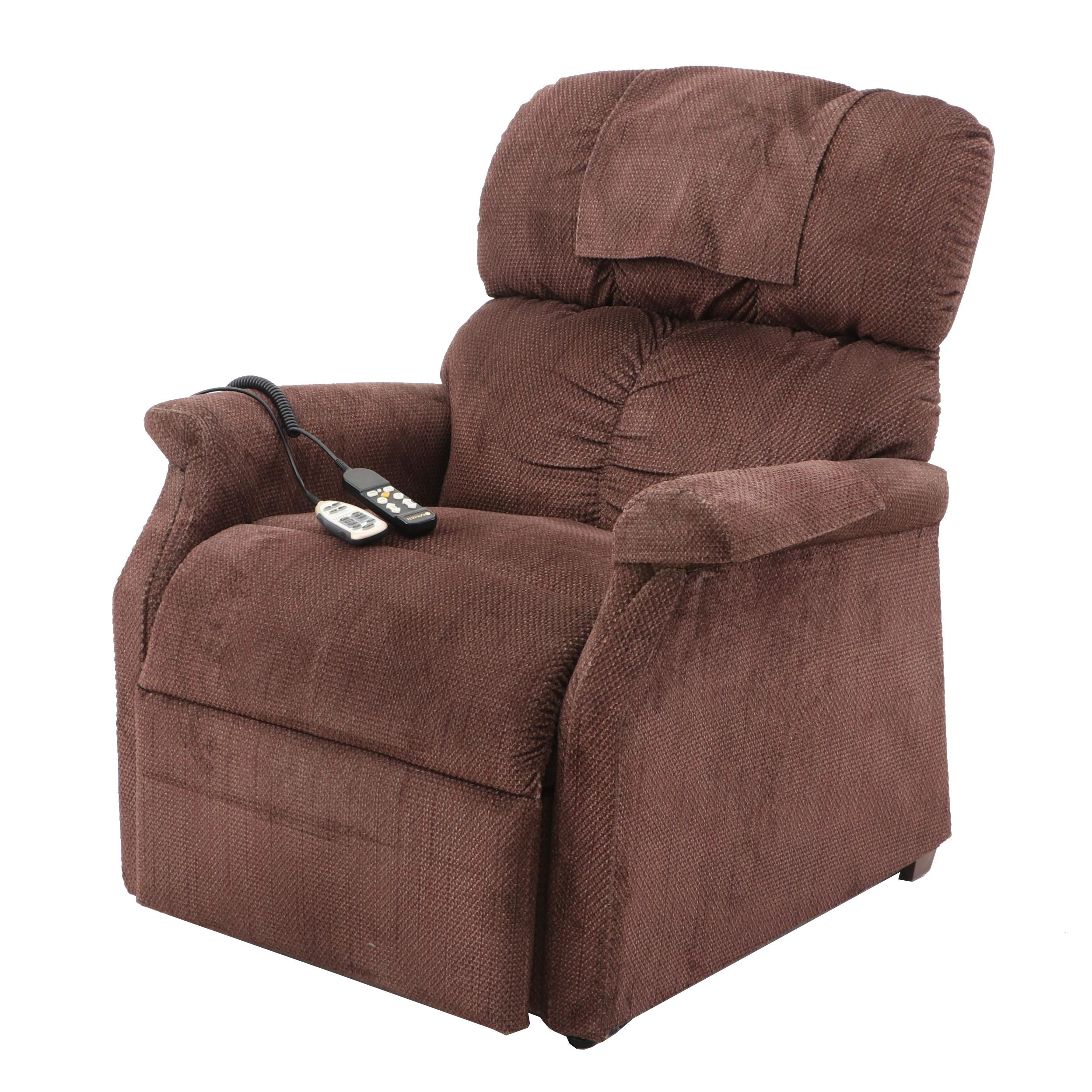 Golden Power Lift Reclining Chair with Remotes for Lift, Recline, and Massage