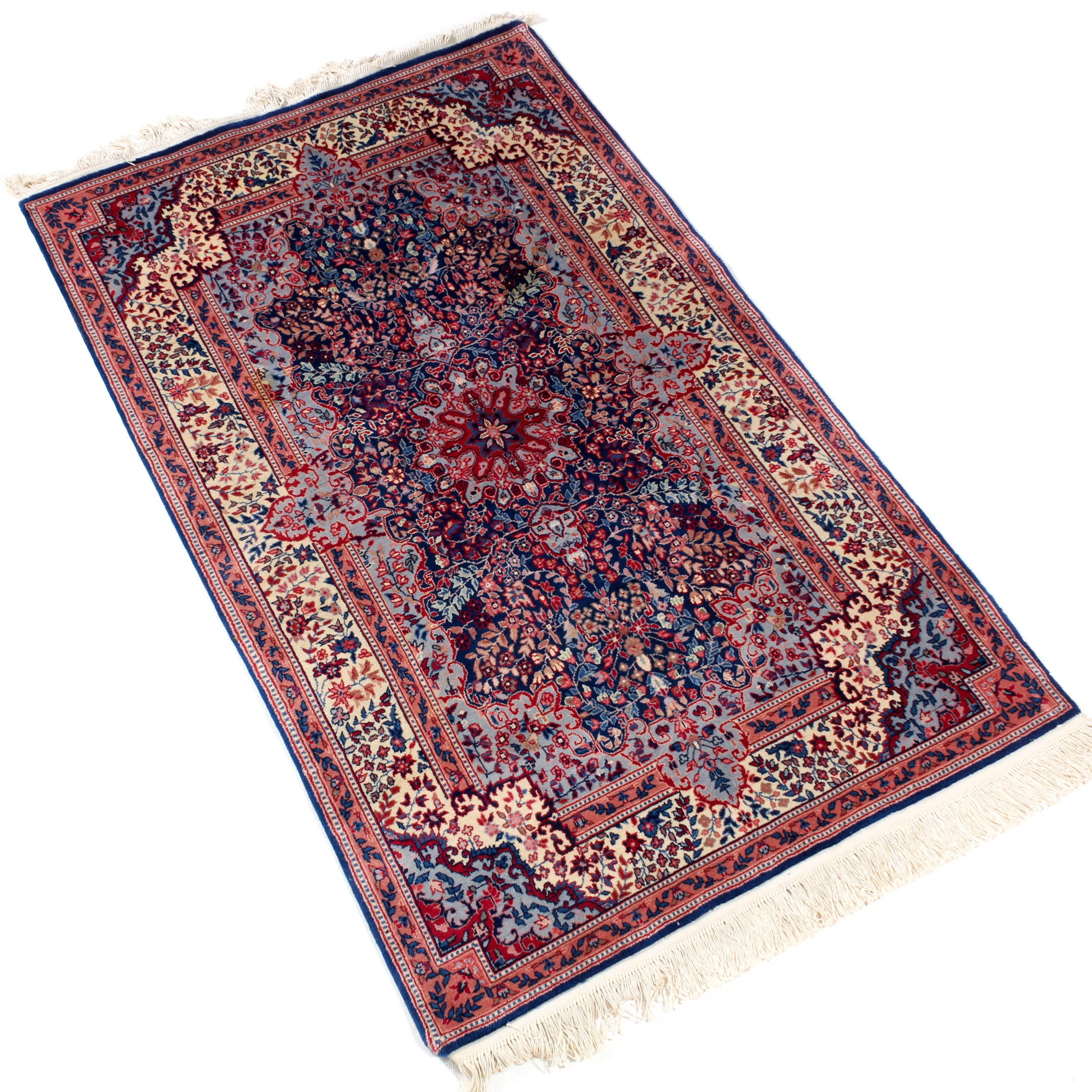 4' x 6.9' Hand-Knotted Persian Rug