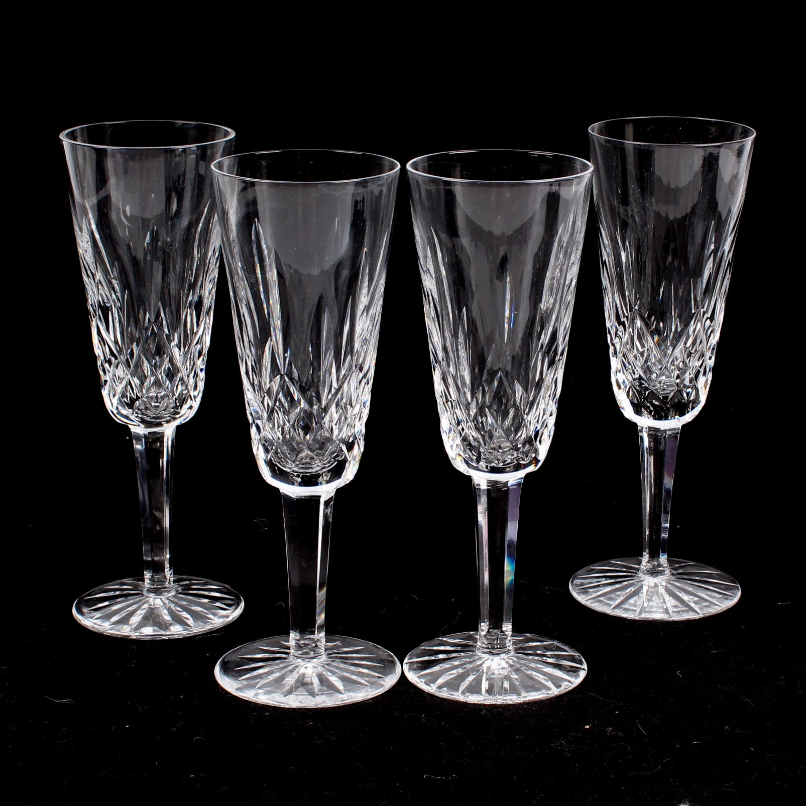 Waterford Lismore Fluted Champagne Glasses