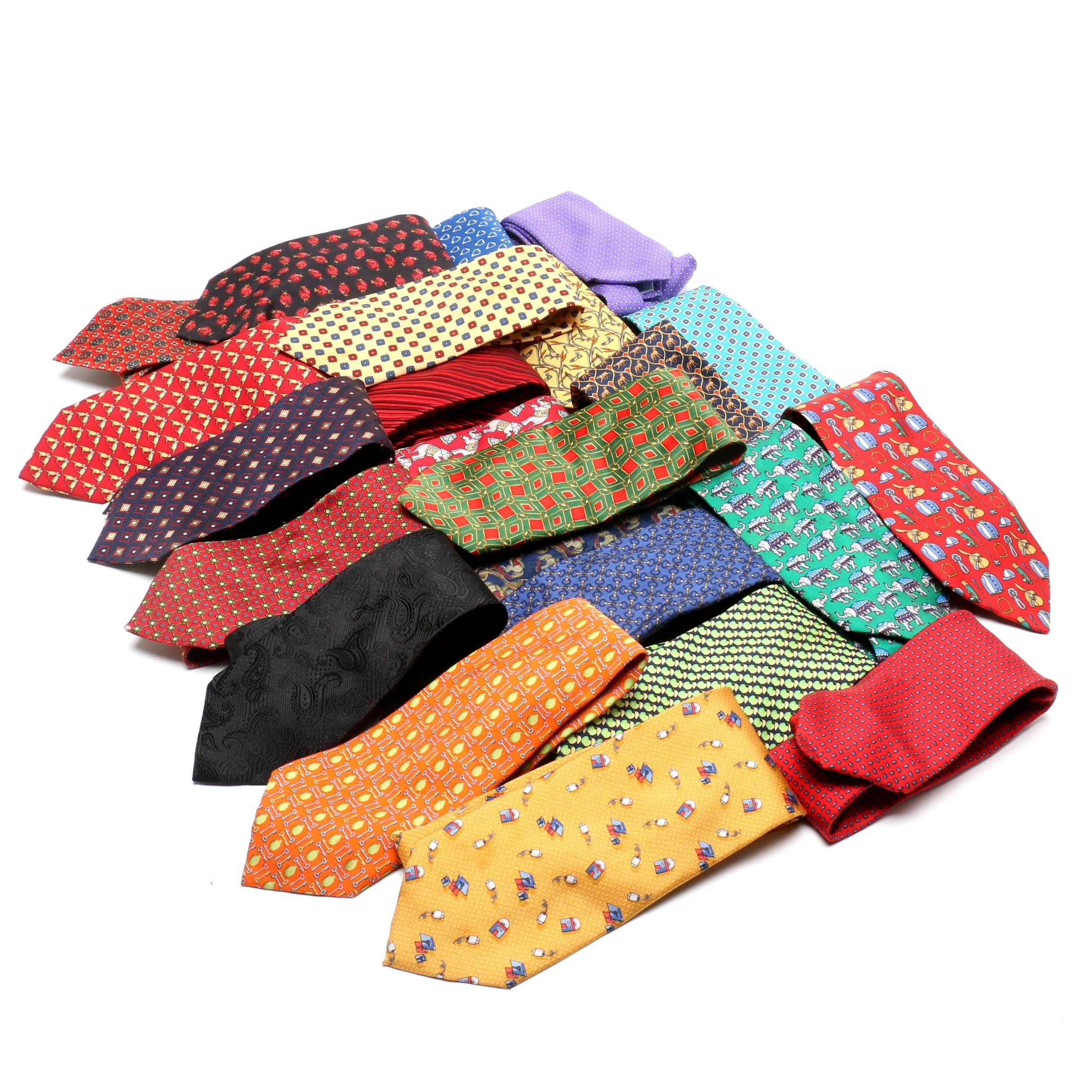 Men's Silk Neckties Including Beaufort, Logan's and Peter Blair