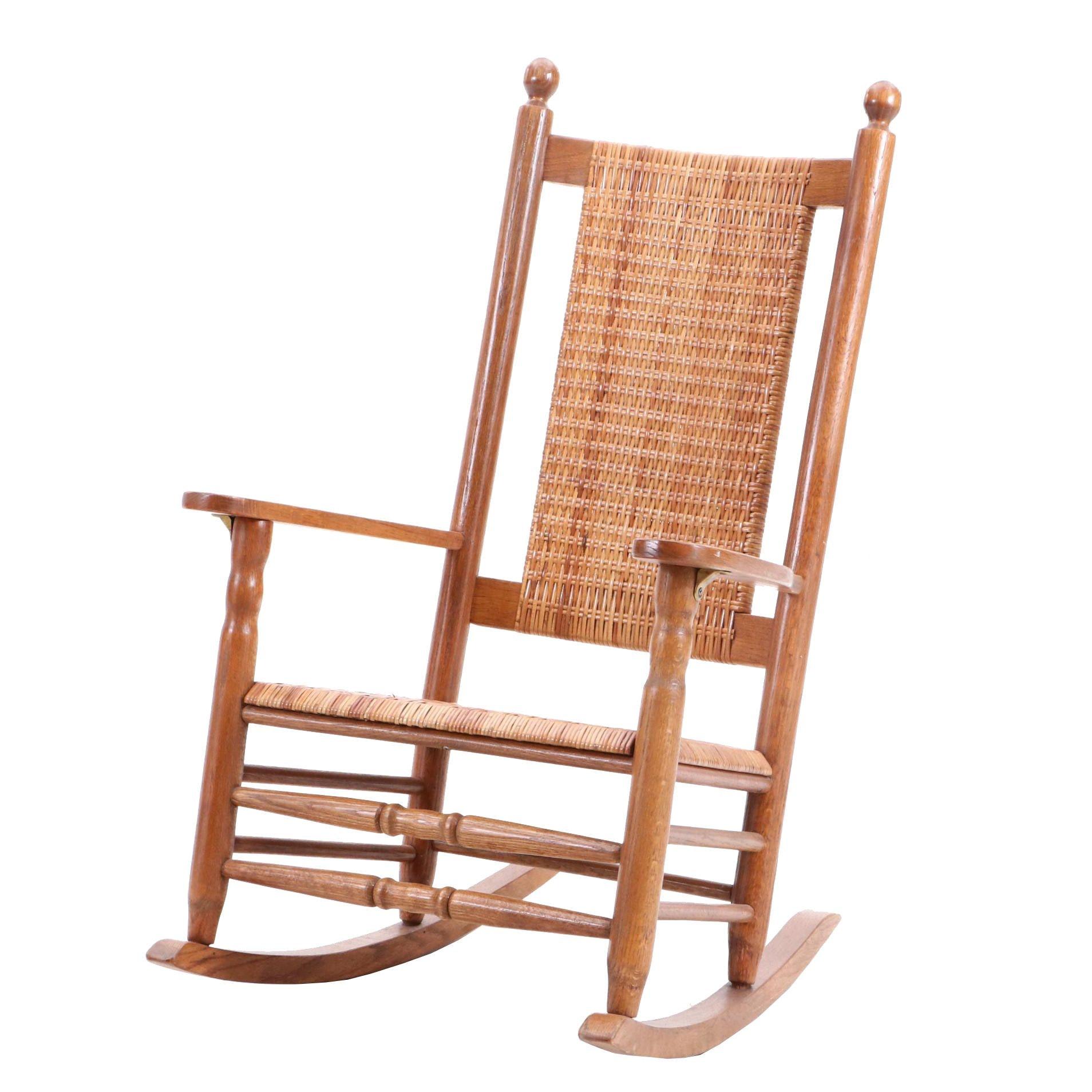 "North Carolina Rocker ""P & P"" Chair Company"