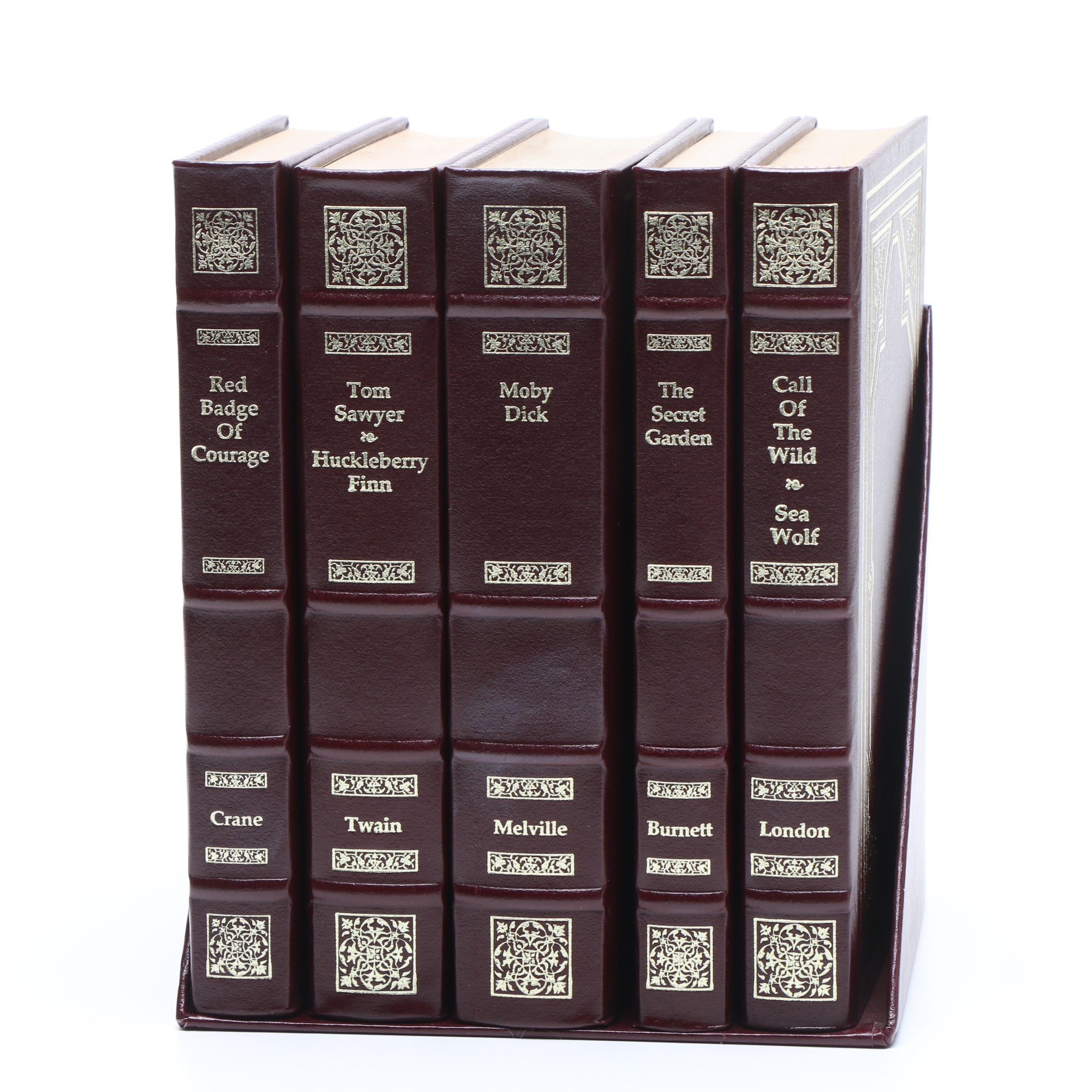 """""""The Collector's Library of Classics"""" Five Volume Set with Shelf Case"""