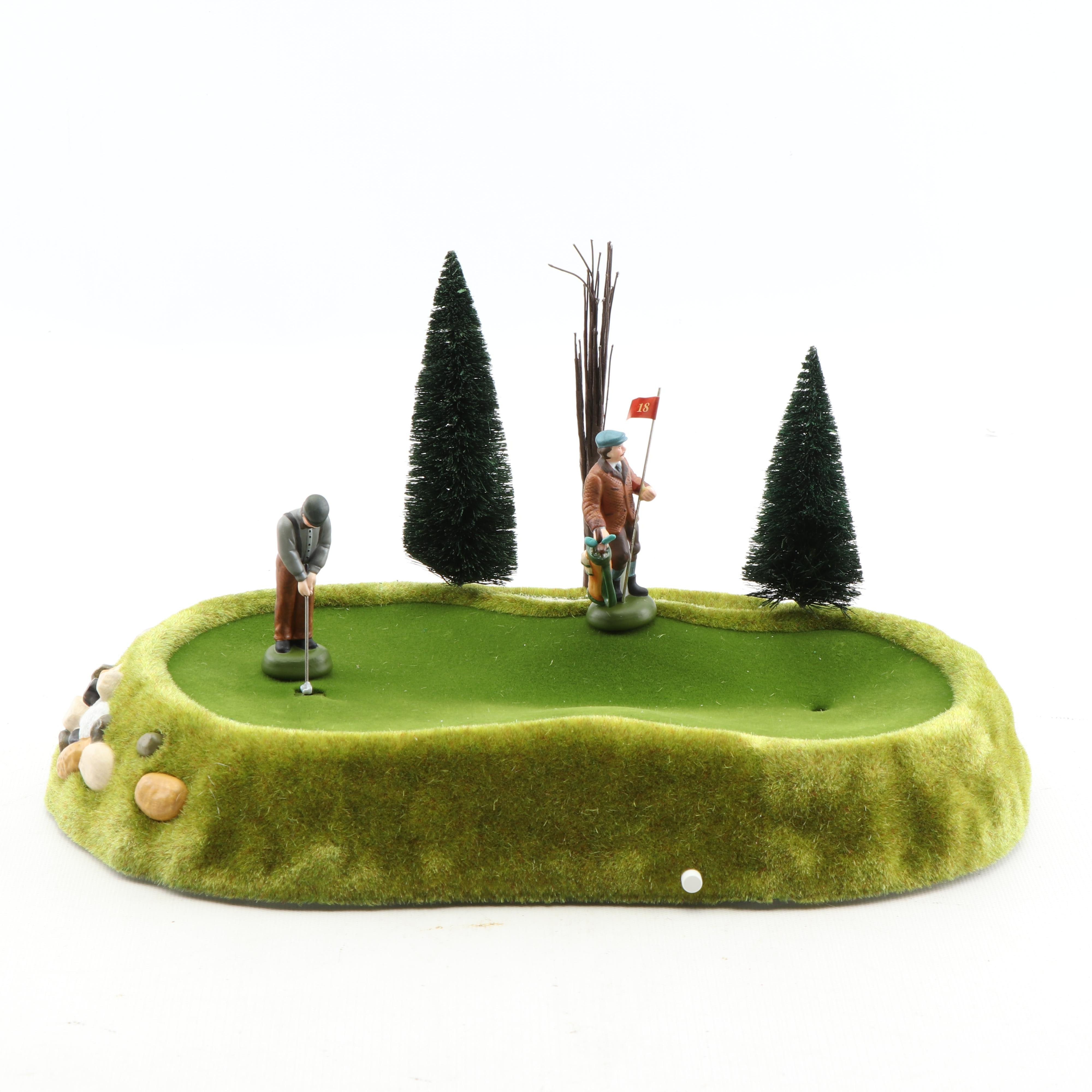 "Department 56 Village Animated ""Perfect Putt"""