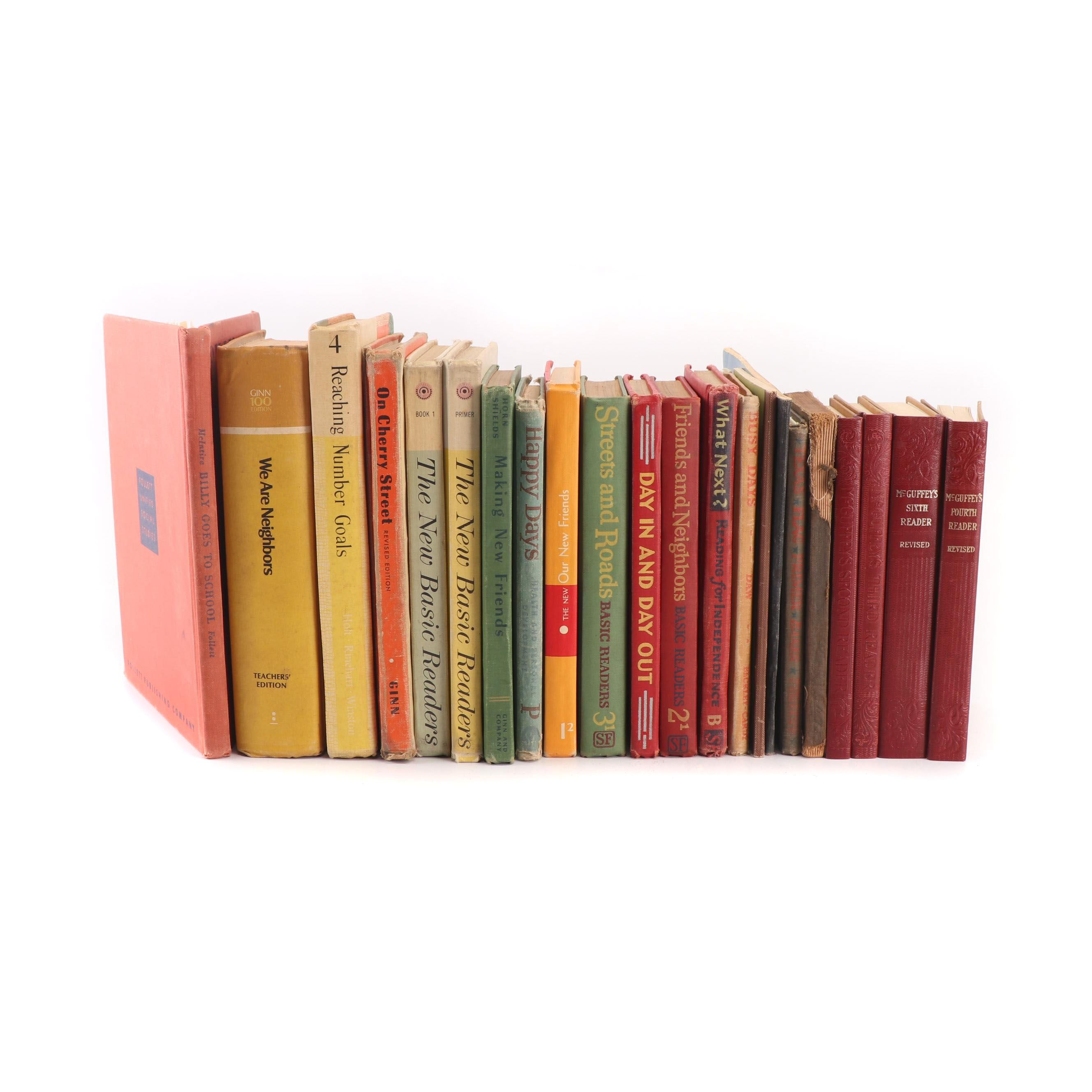 """Children's Books Including The Ginn Basic Reader """"We Are Neighbors"""""""