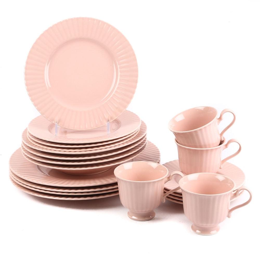 """Mikasa """"Rose Blush"""" Potpourri Bone China Dinnerware"""