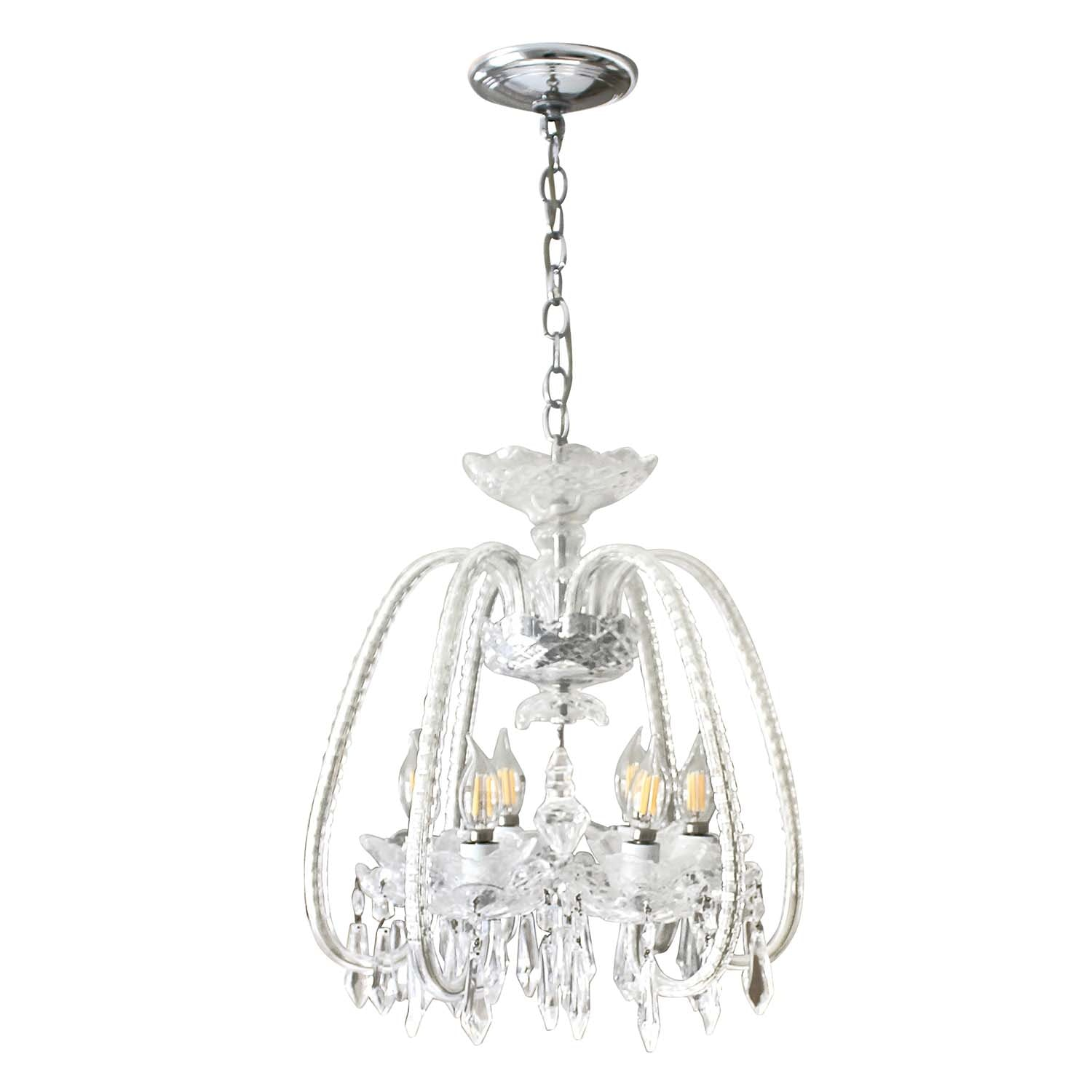 Waterford Crystal Six-Arm Chandelier