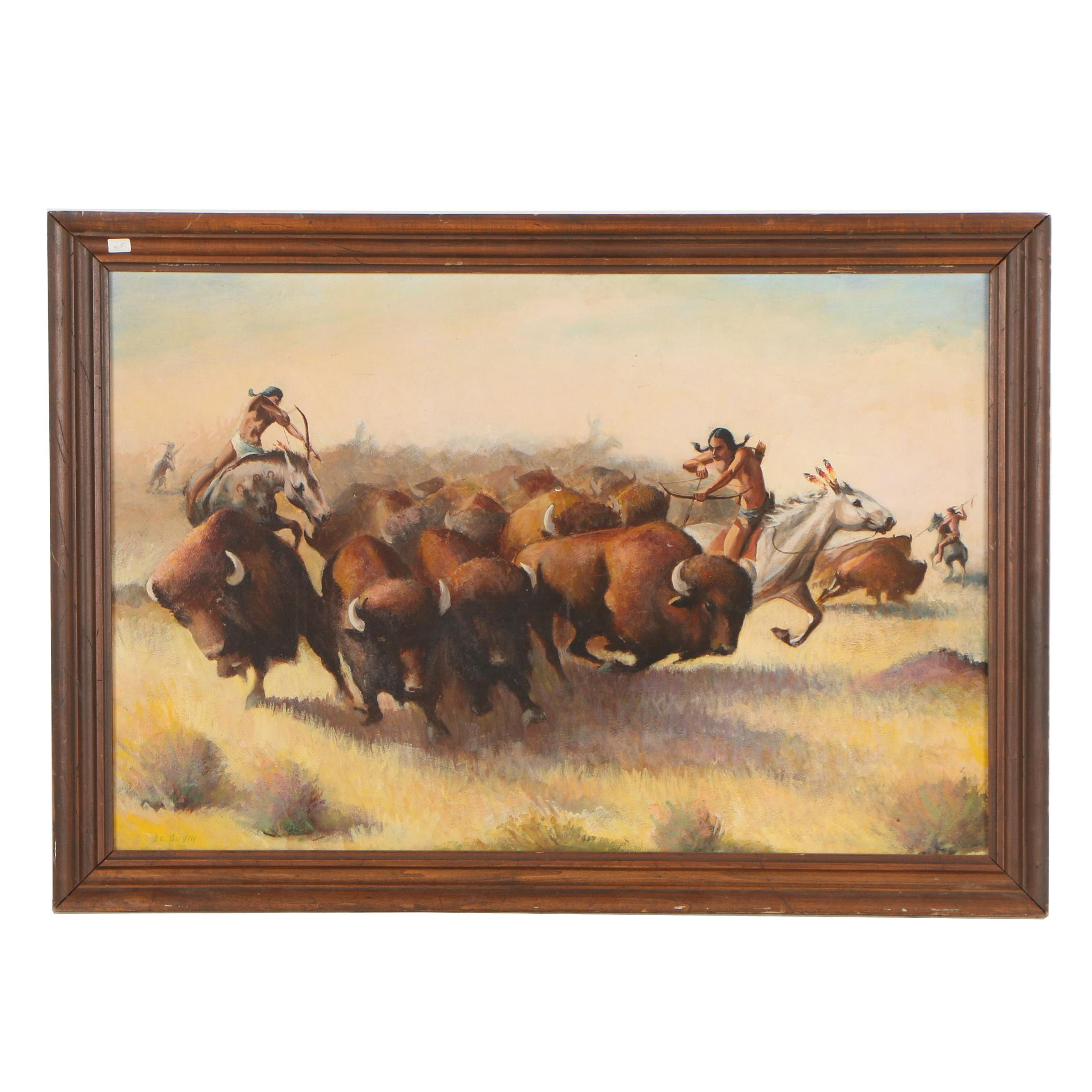 A.C. Byam Oil Painting