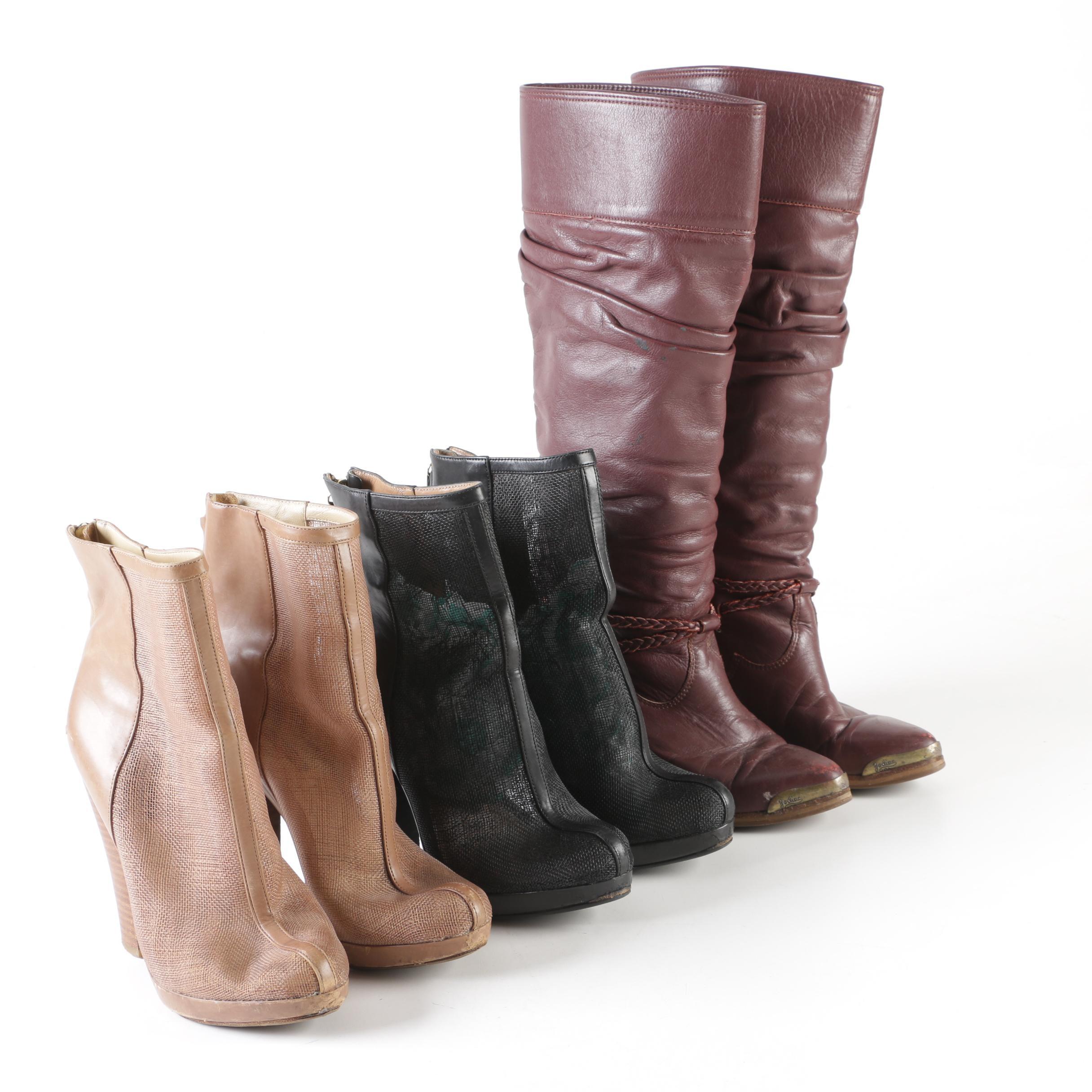 Rachel Zoe Booties and Zodiac Boots