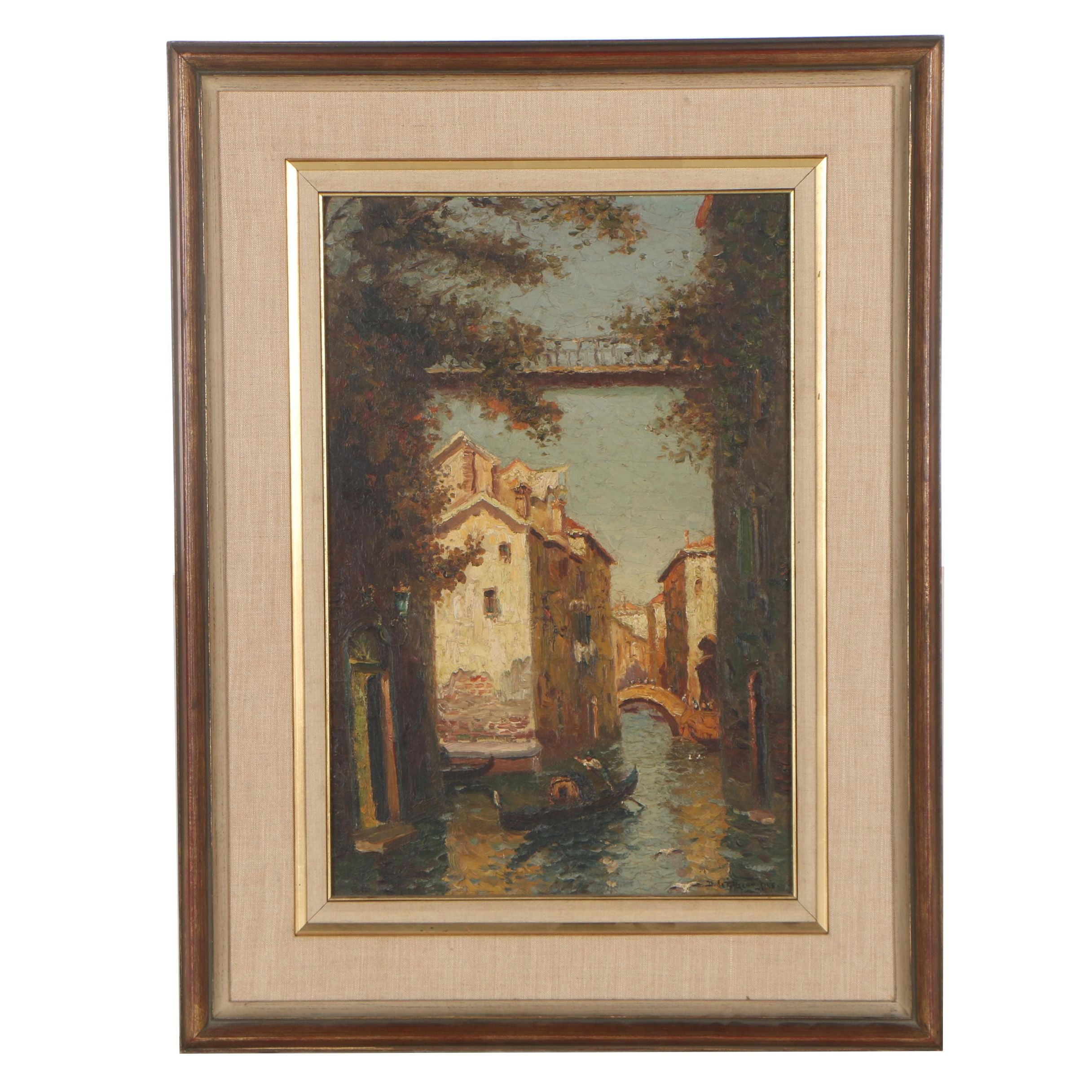 Richard Dey De Ribcowsky Oil Painting