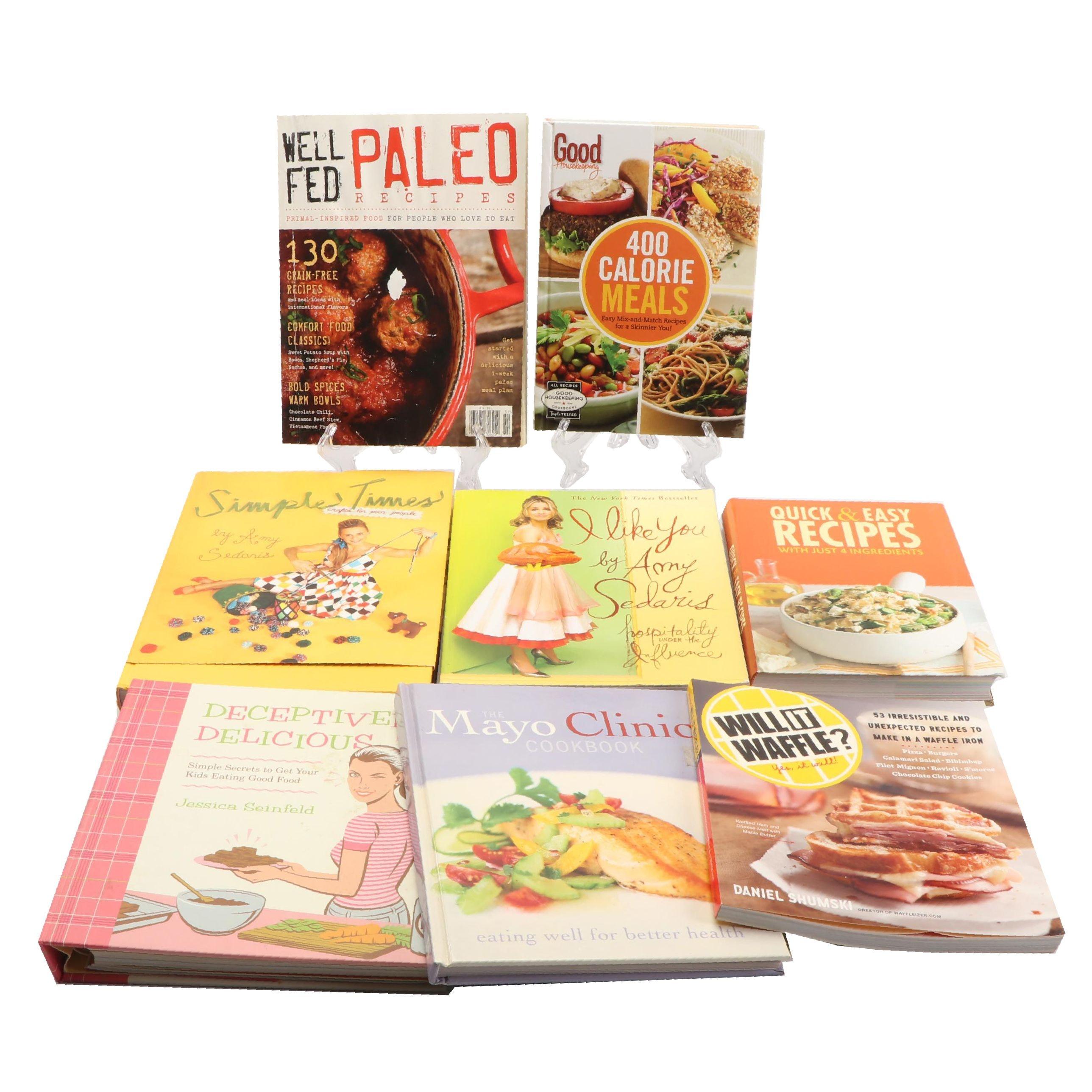 """Hospitality and Cookbooks Including """"I Like You"""" by Amy Sedaris"""
