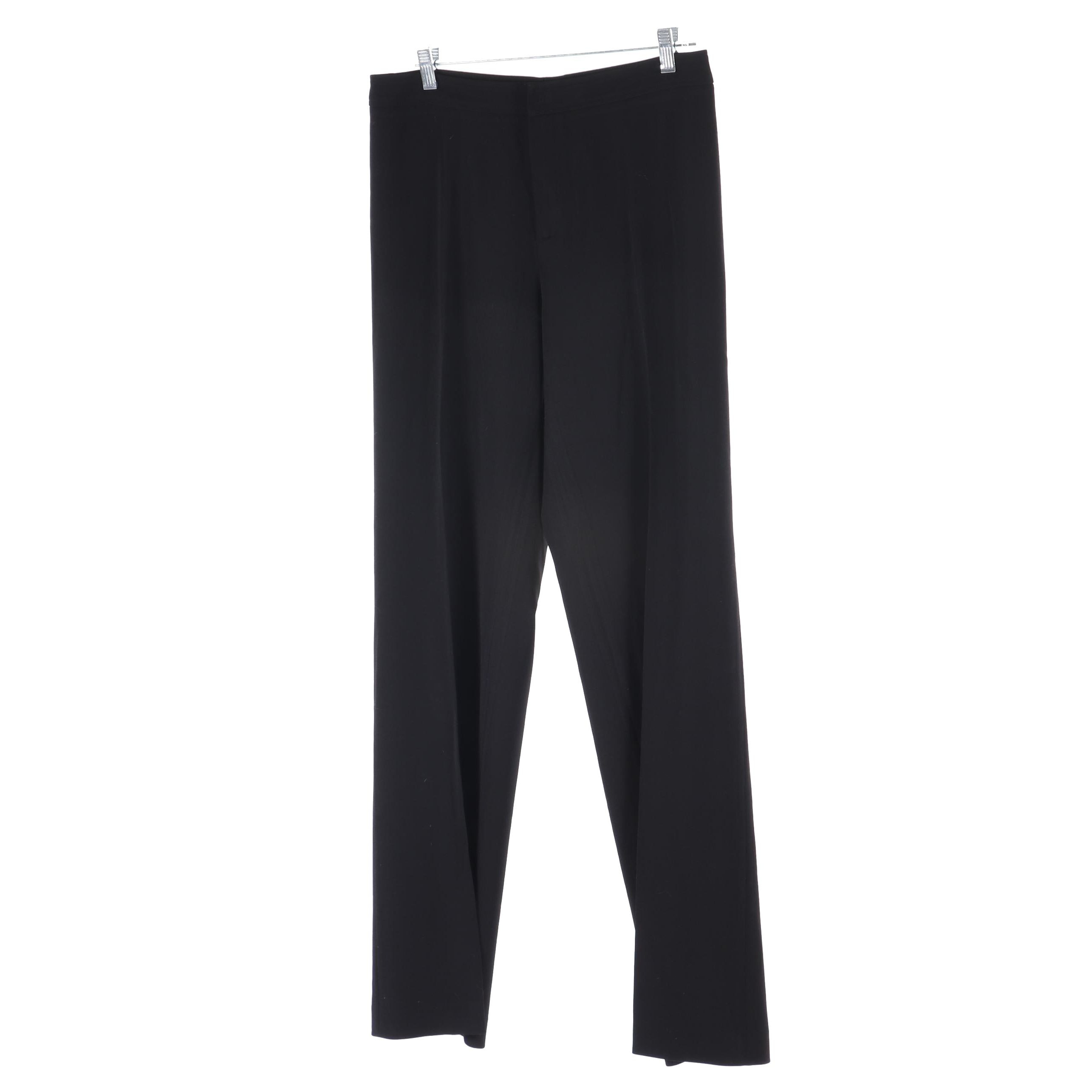 Philippe Adec Paris Black Dress Pants