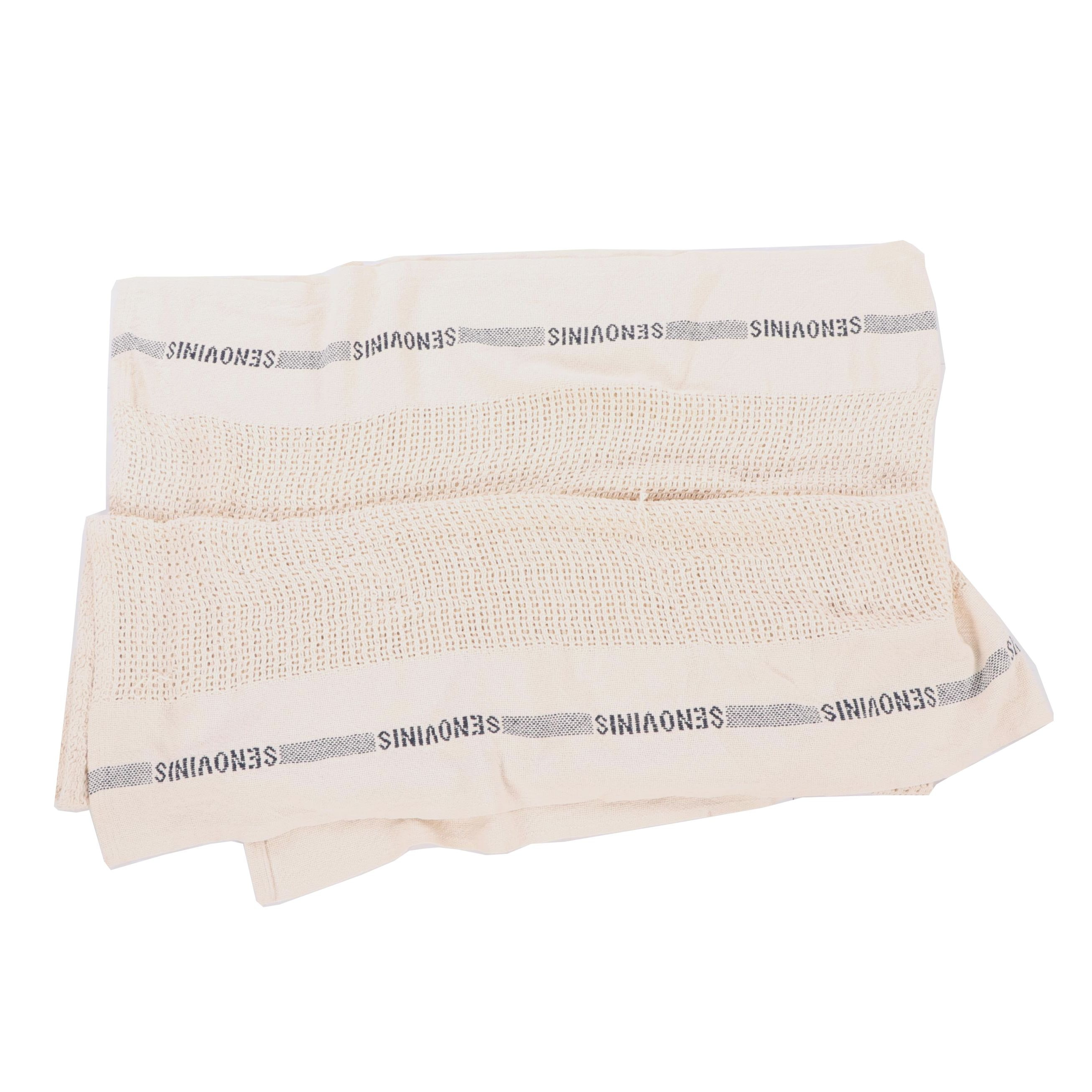 "Fog Linen ""Senovinis"" Cotton Throw Blanket"