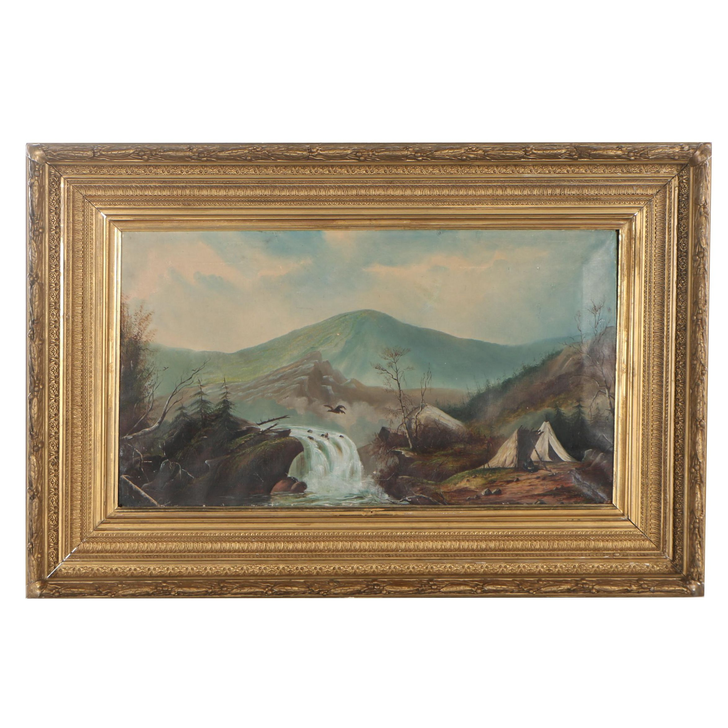 Late 19th Century Oil Painting