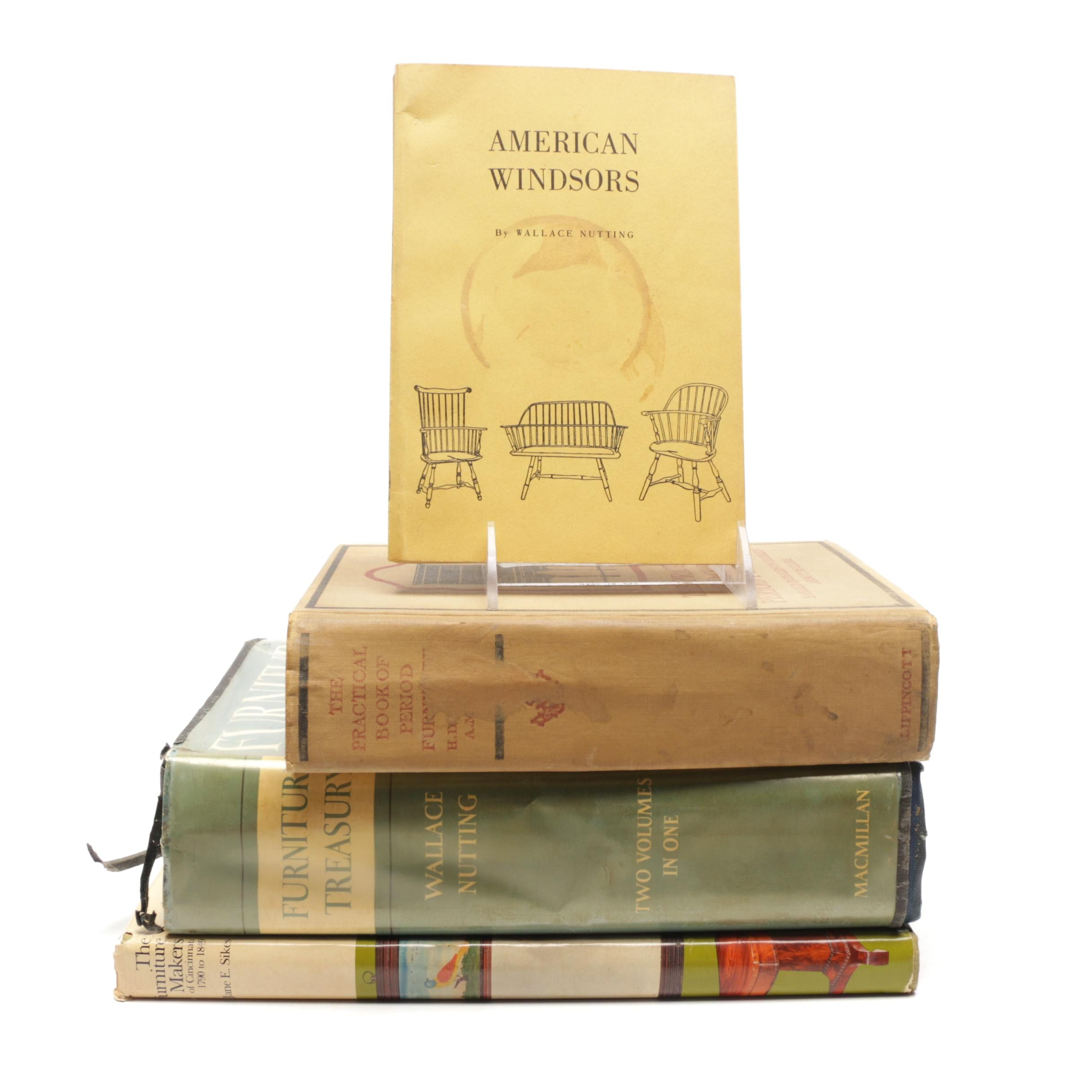 Antique to Vintage  Books on Furniture including First Edition
