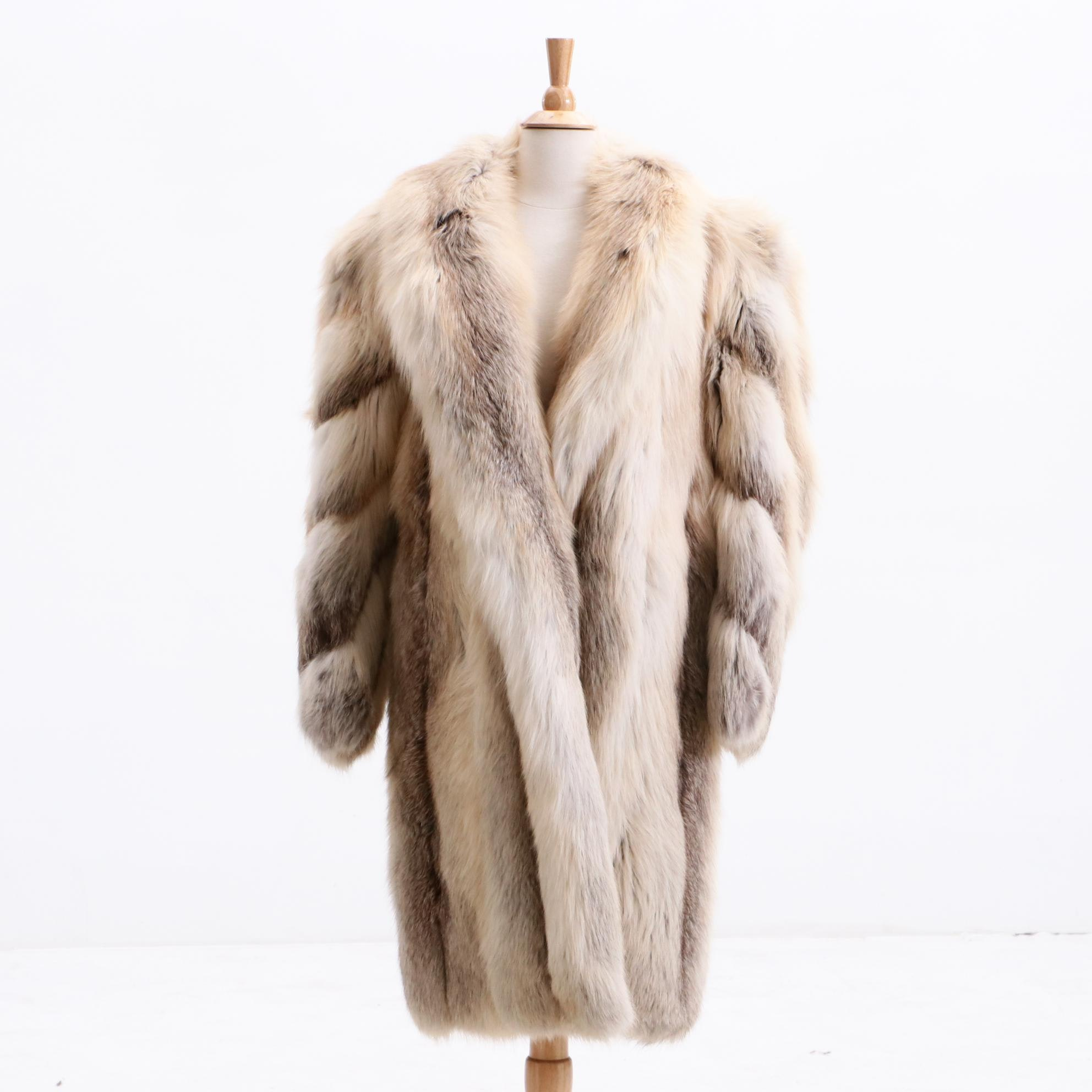 Women's Fox Fur Coat
