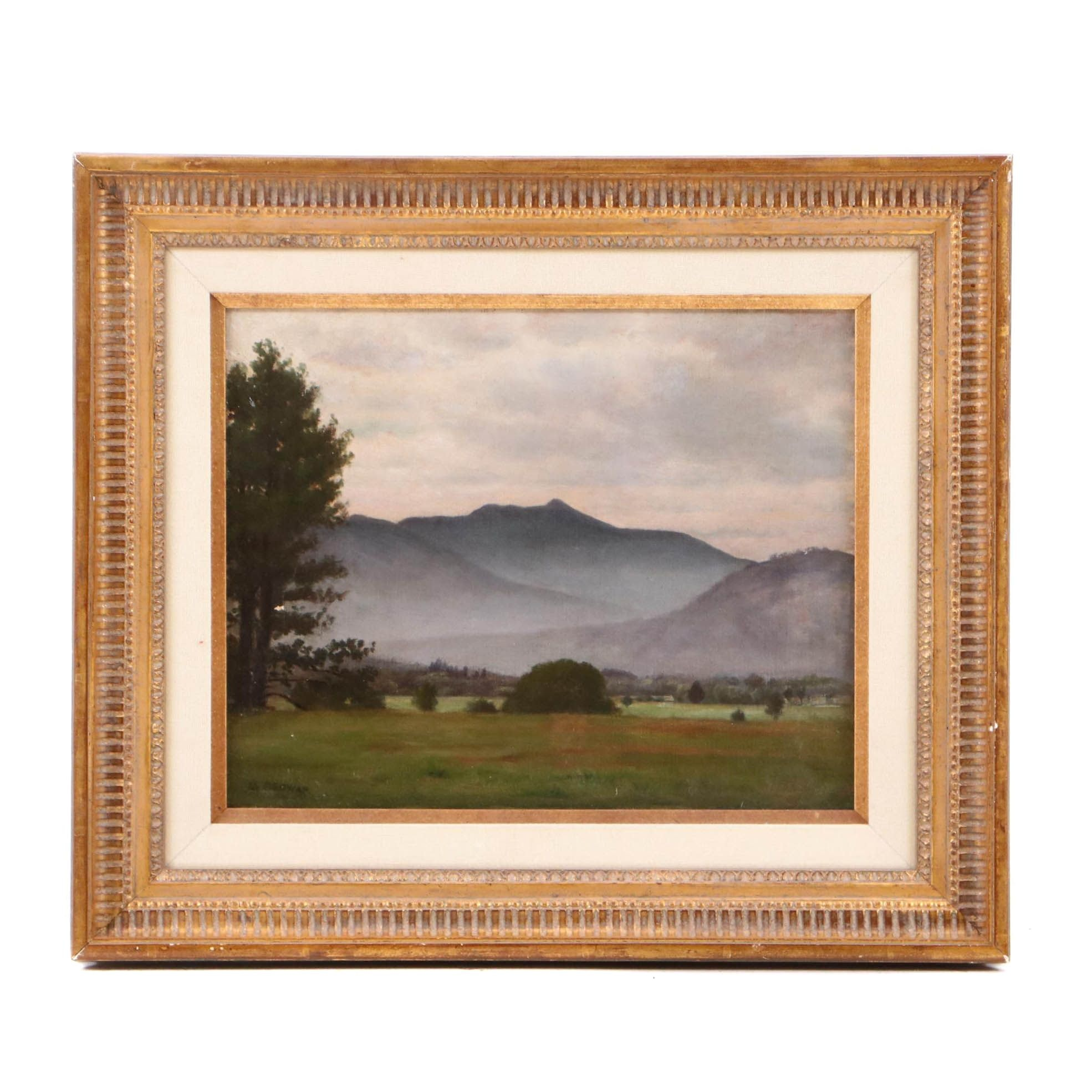 Alfred Ordway Landscape Oil Painting