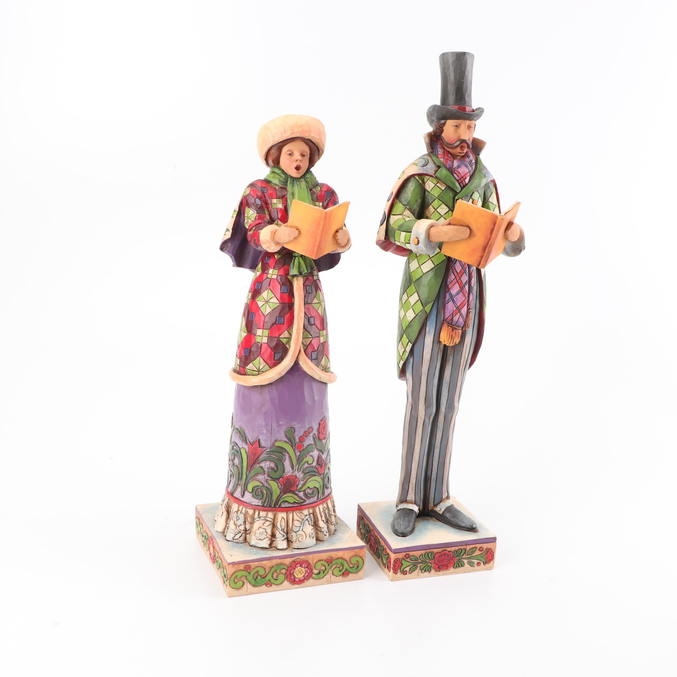 Jim Shore Heartwood Creek Caroling Figurines