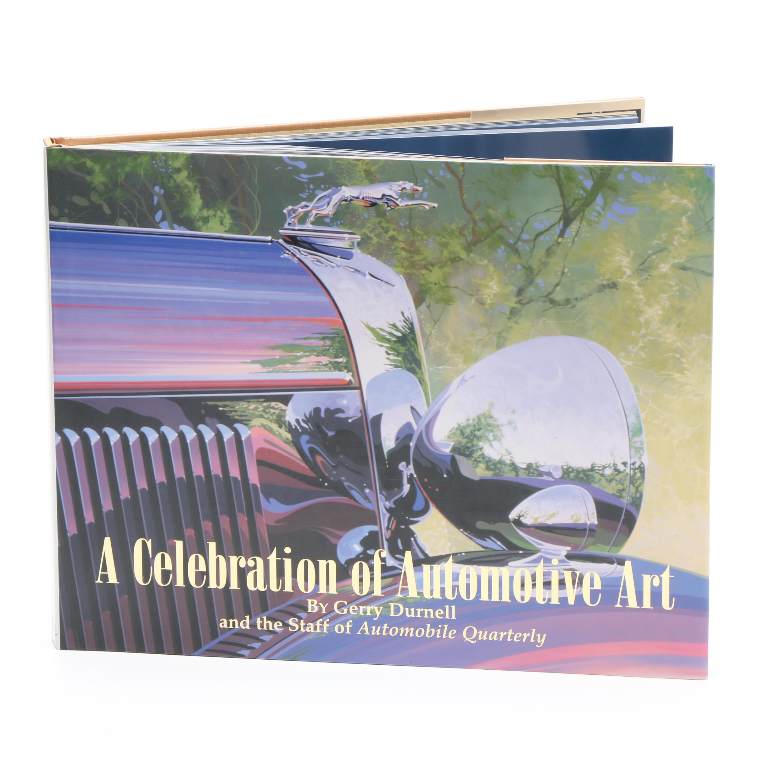 """AFAS: A Celebration of Automotive Art"", Signed First Edition"
