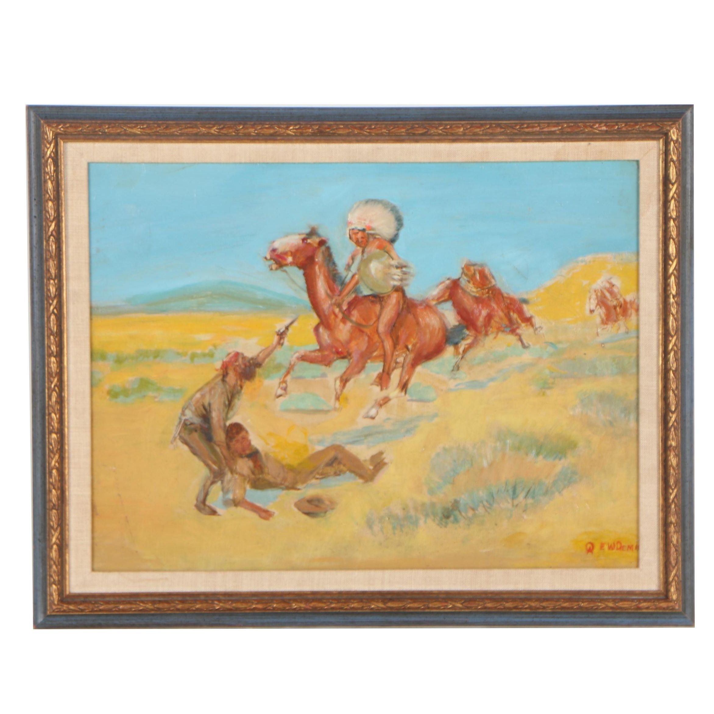 Edwin Willard Deming Oil Painting