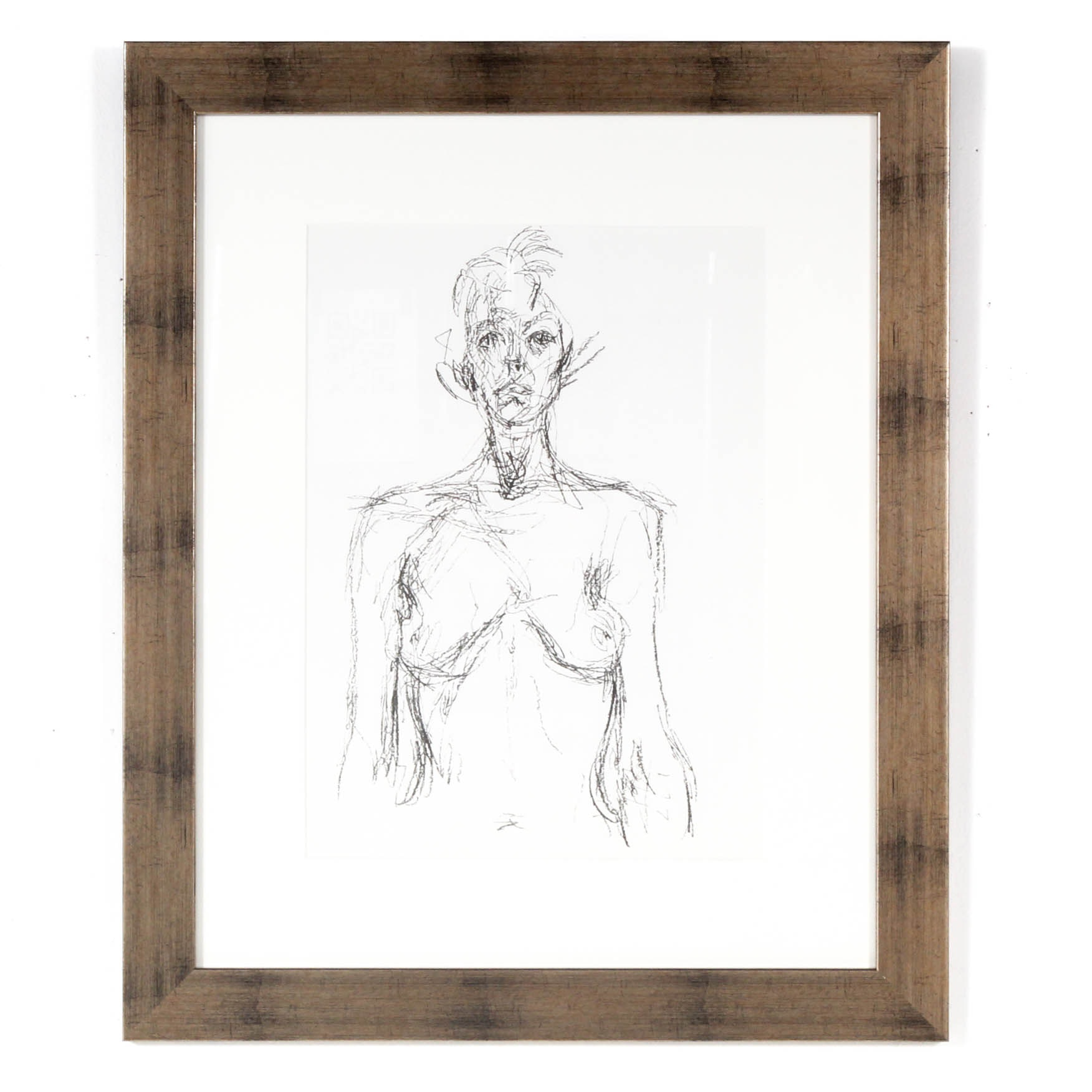 "Alberto Giacometti Restrike Lithograph from ""Derriere le Miroir"""