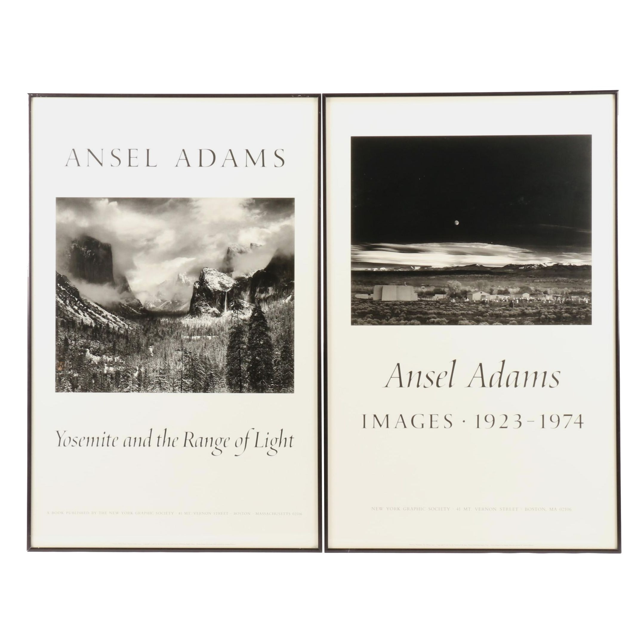 Two New York Graphic Society 1981 Ansel Adams Posters