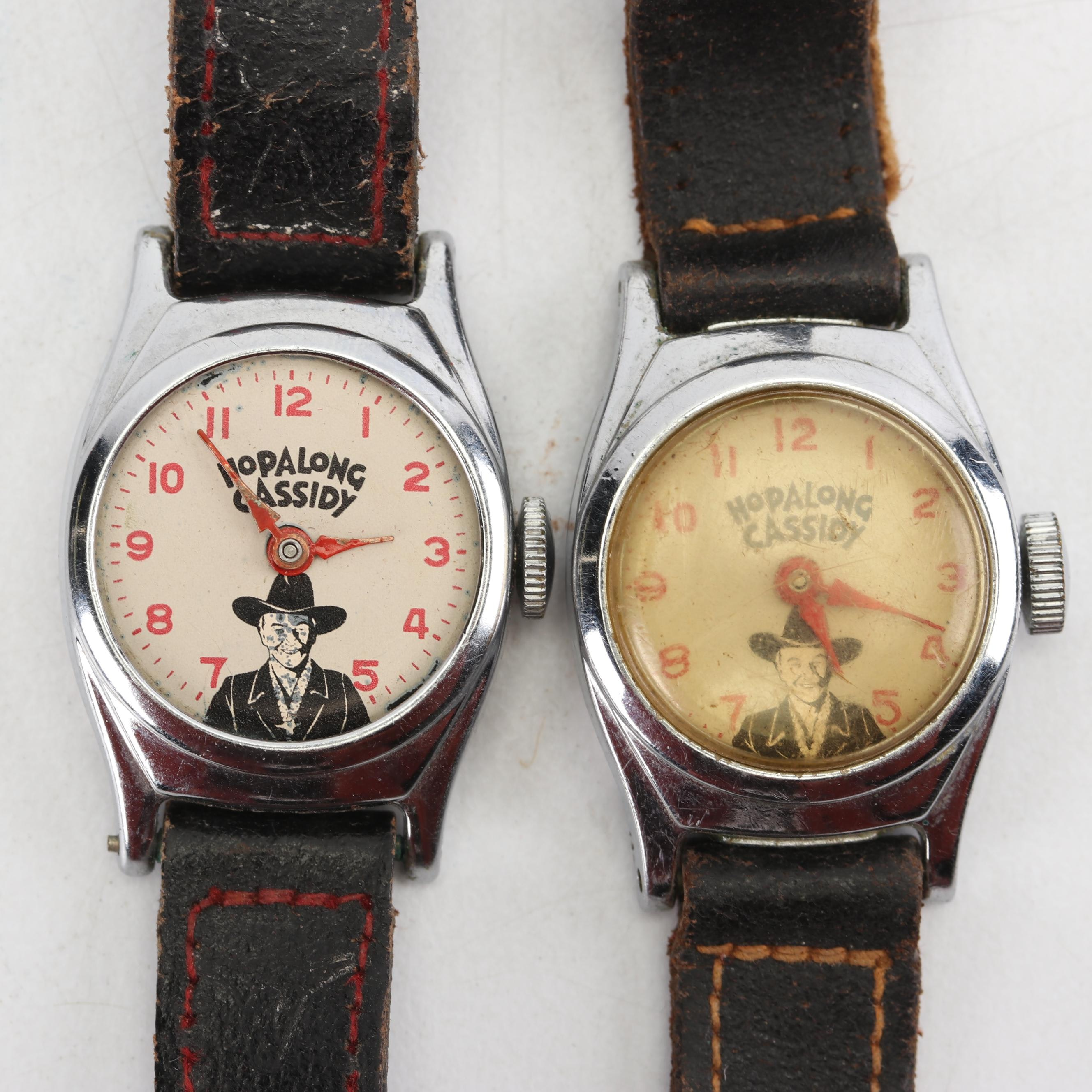 """Two """"Hopalong Cassidy"""" Wristwatches"""