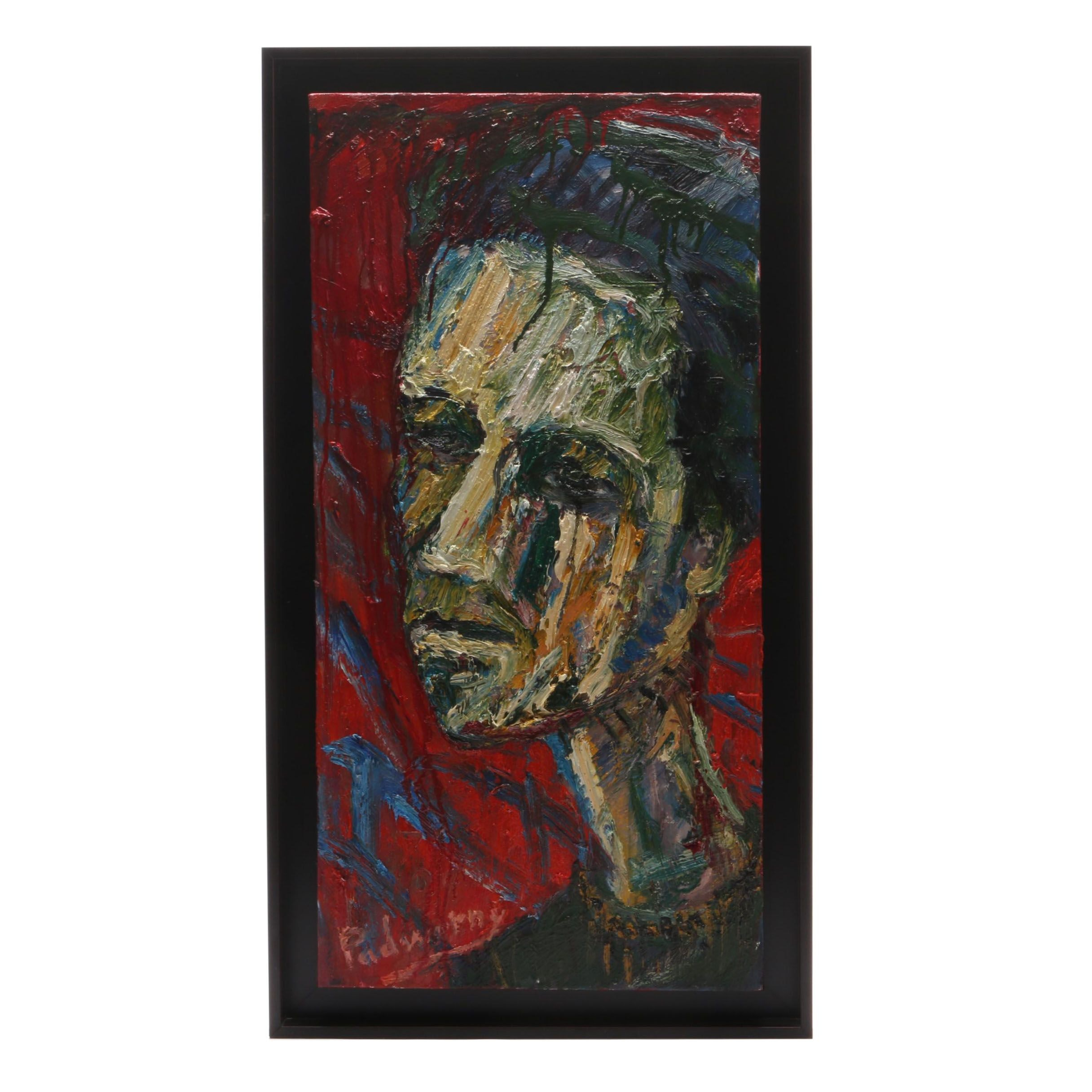 David Padworny Abstract Expressionist Style Portrait