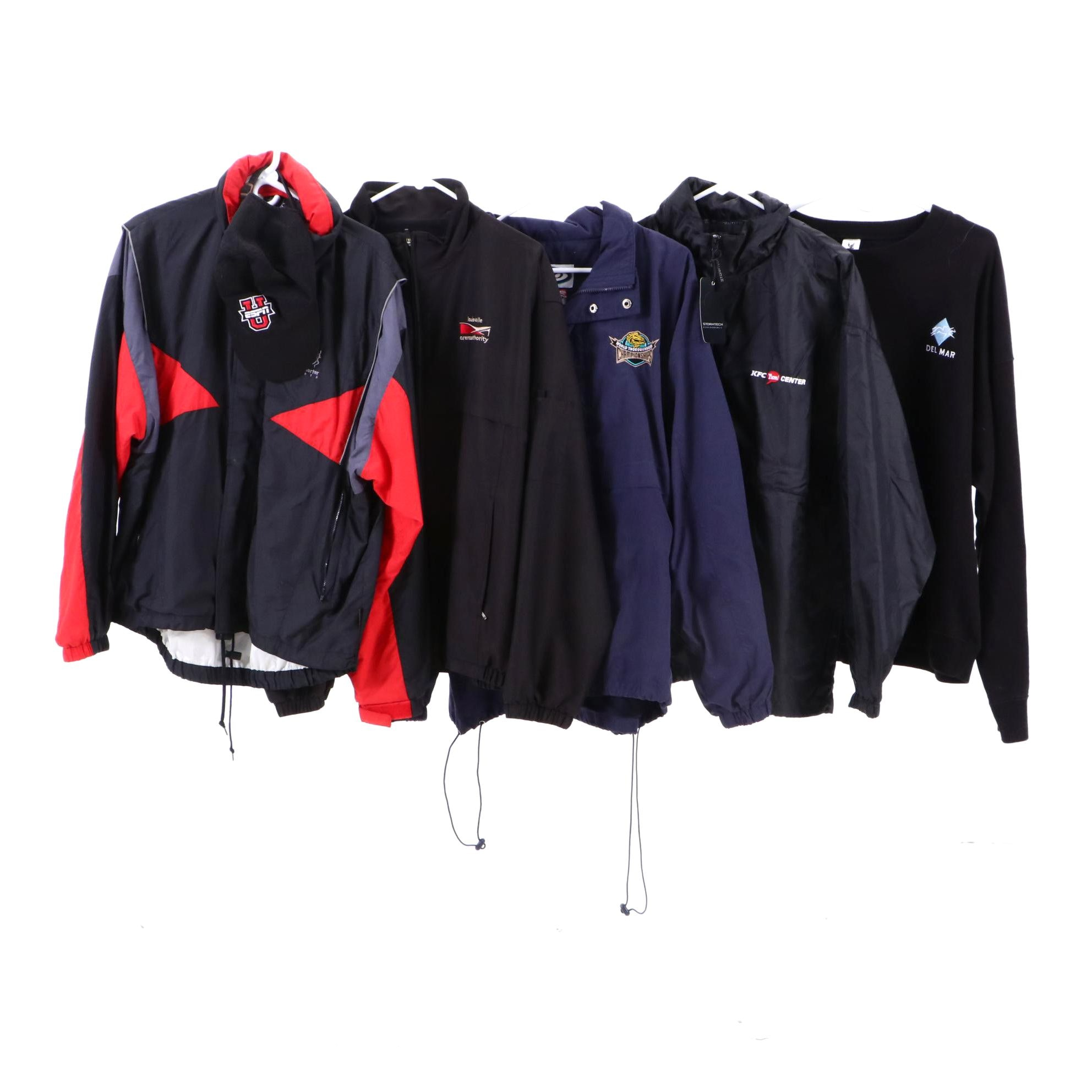 Men's Jackets, Sweater and Hat