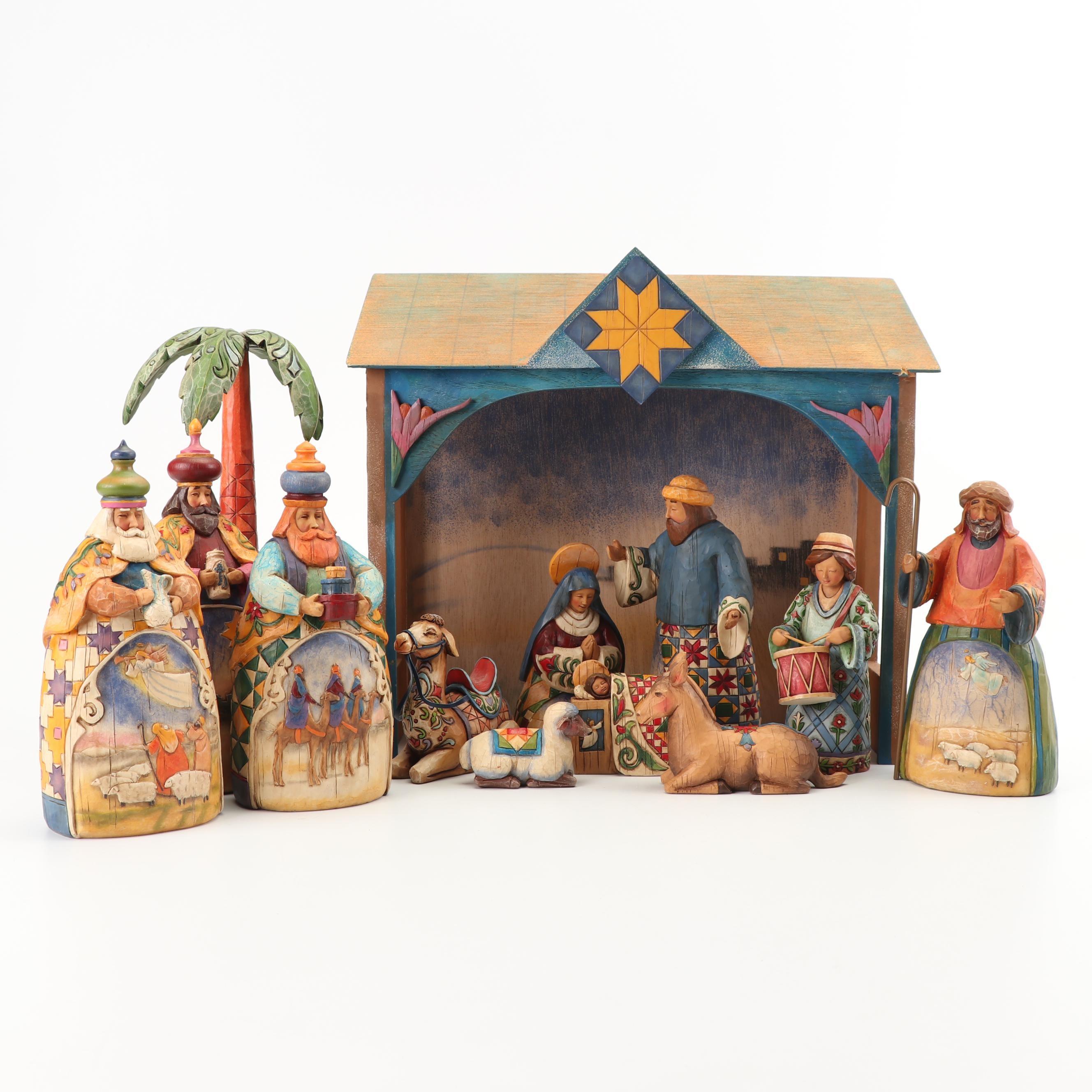 Heartwood Creek by Jim Shore Nativity Set
