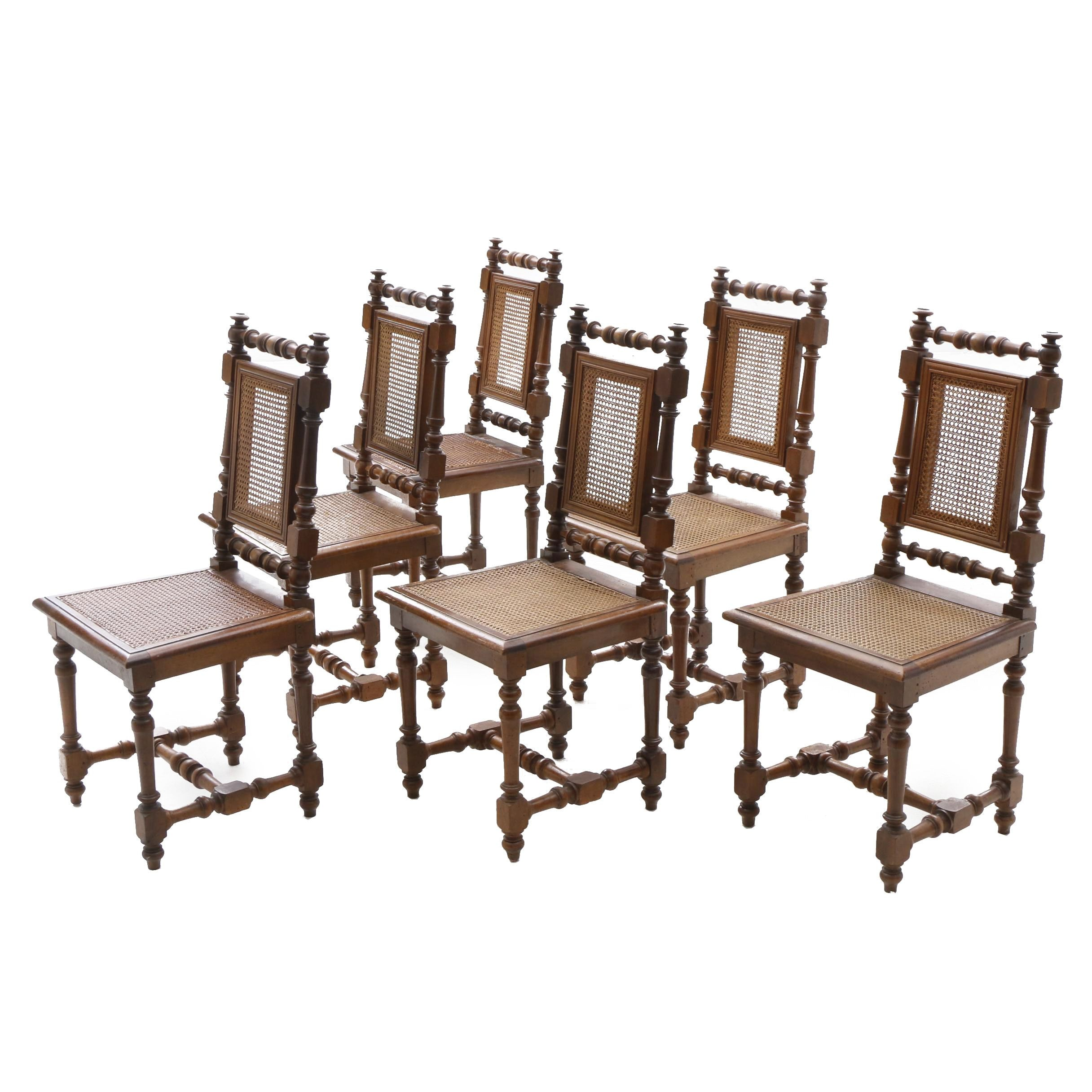 Set of Victorian Side Chairs