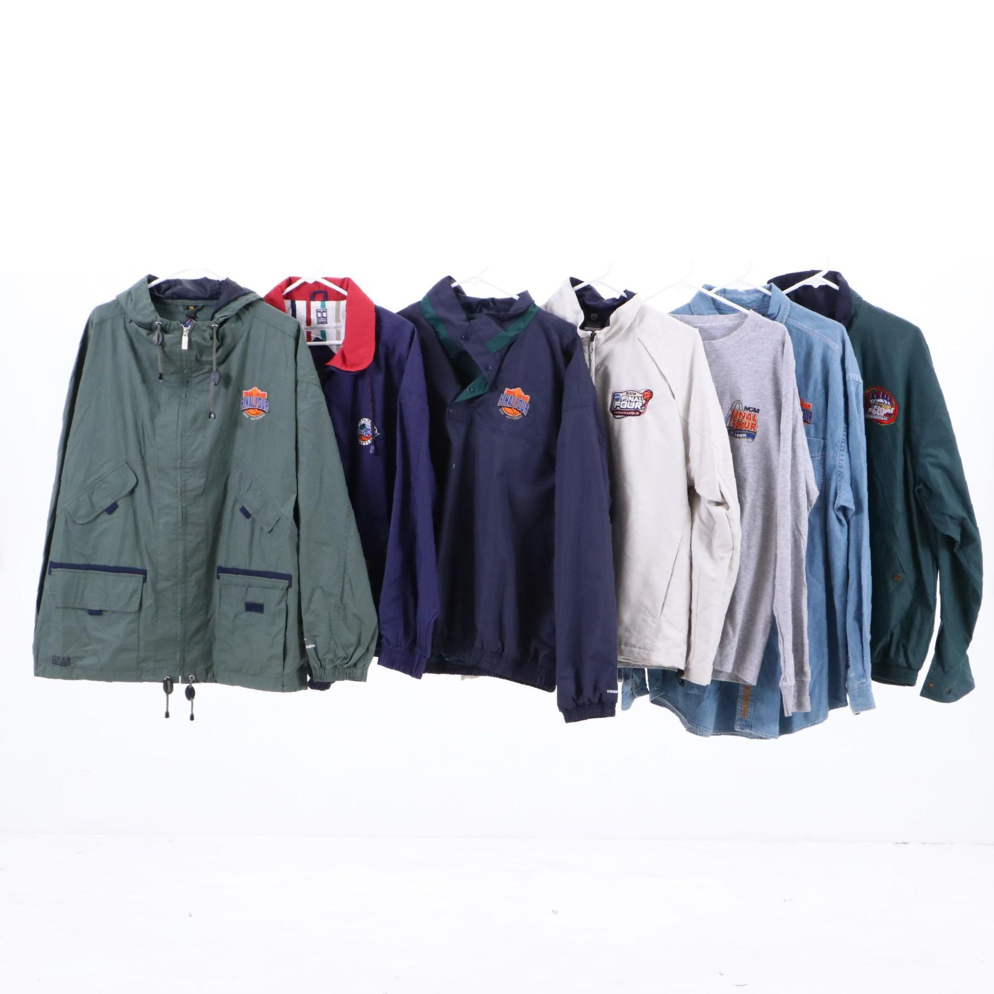 Men's Final Four Outerwear and Shirts Including Nike and More