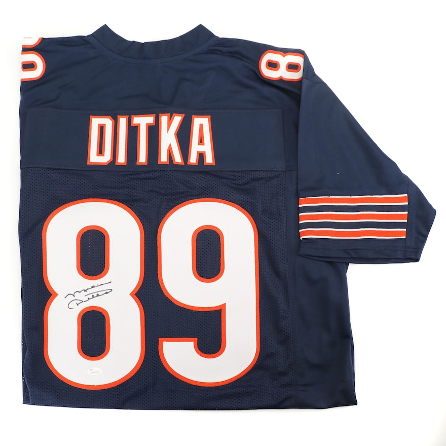 more photos 2d59f cf965 Mike Ditka Autographed Chicago Bears Jersey - JSA COA